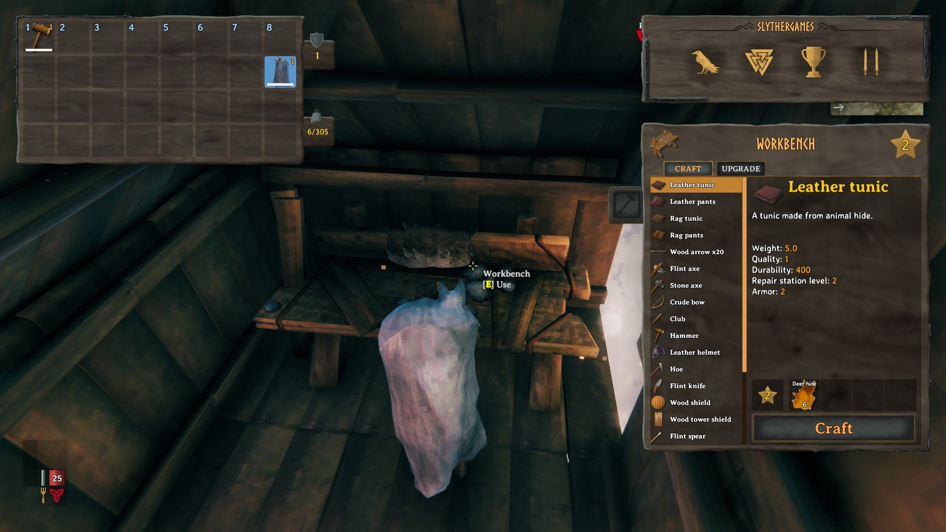 Valheim - Craft and Build From Containers Mod