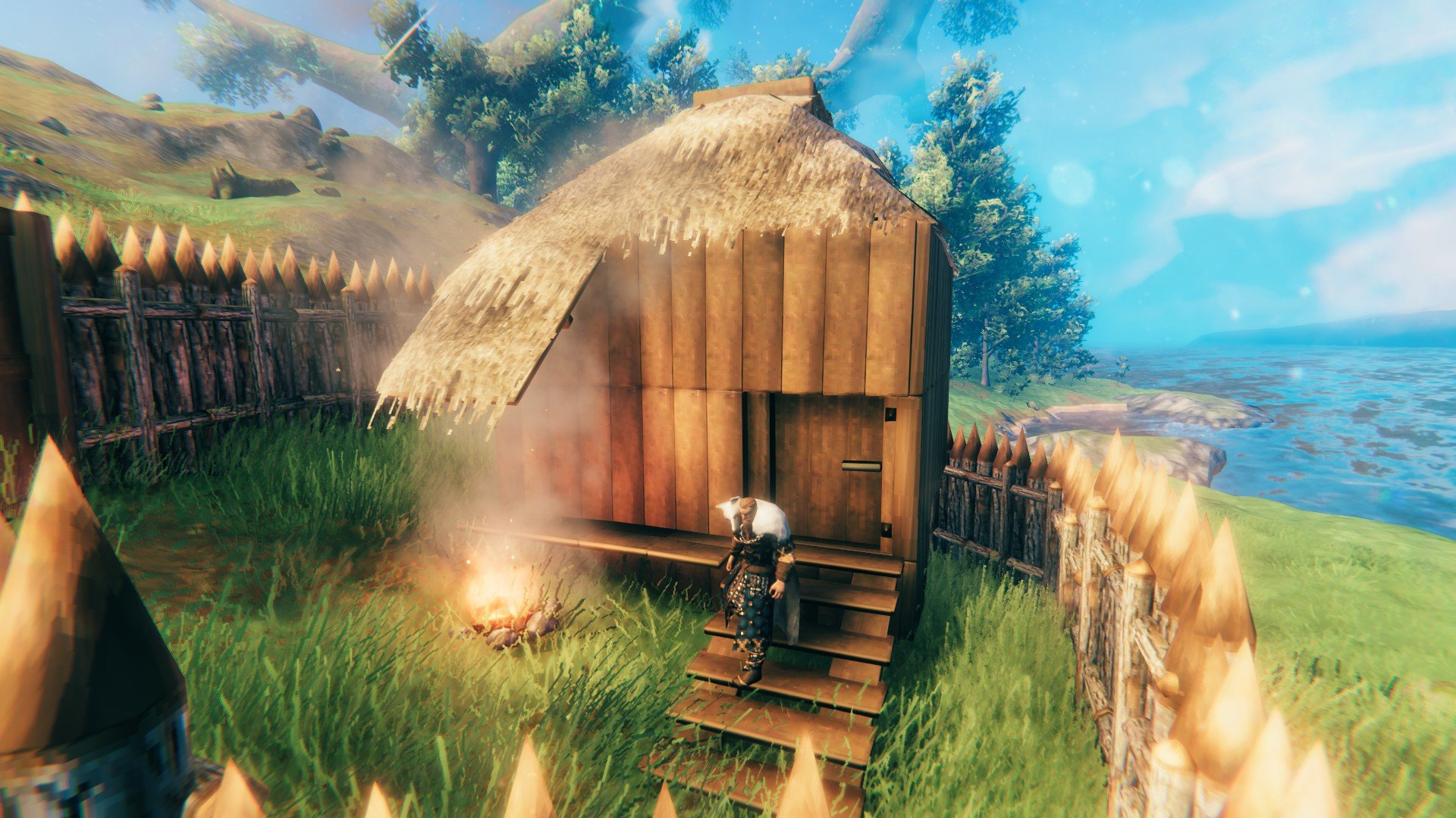 Valheim Crafting Station Needs A Roof Fix Slyther Games