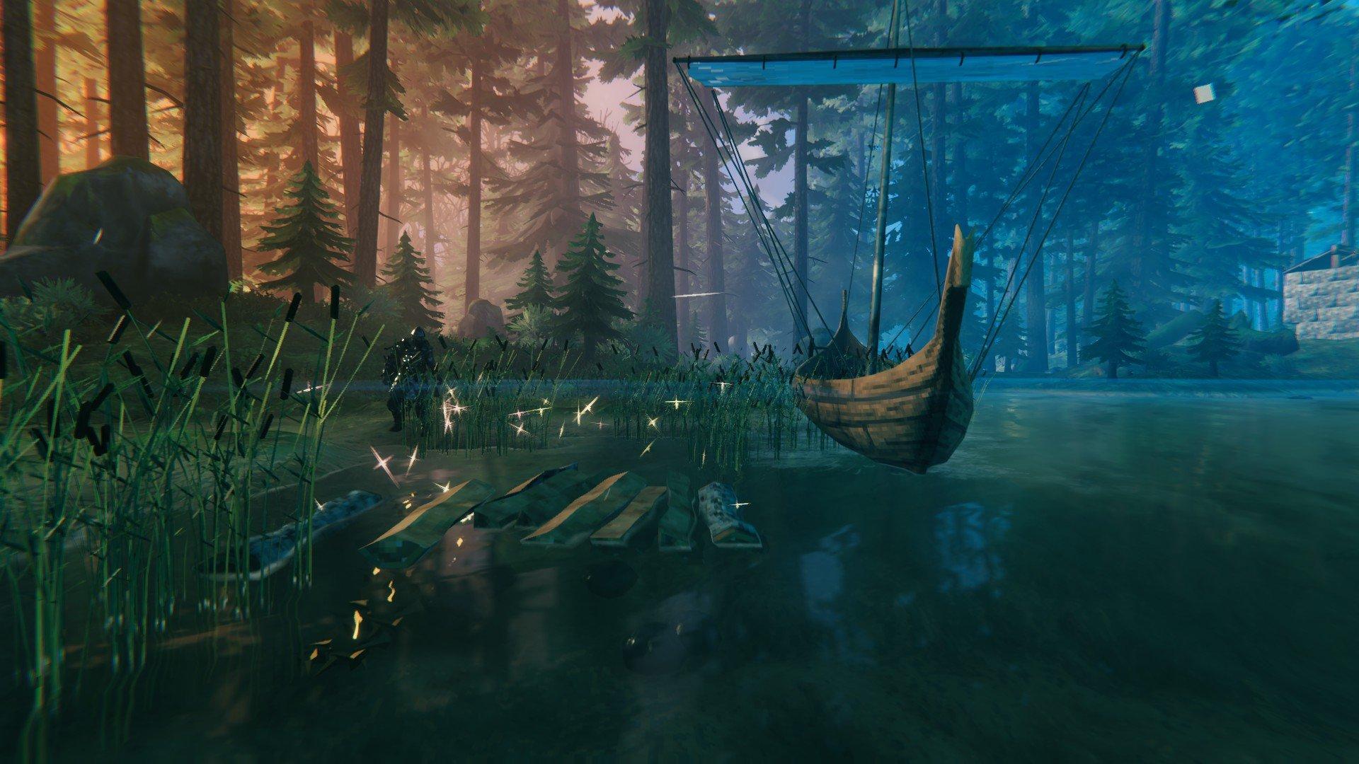 Valheim - Floating Items Karve Screenshot