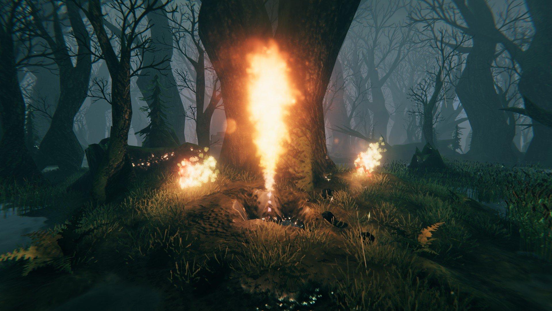 Valheim - Swamp Biome Screenshot