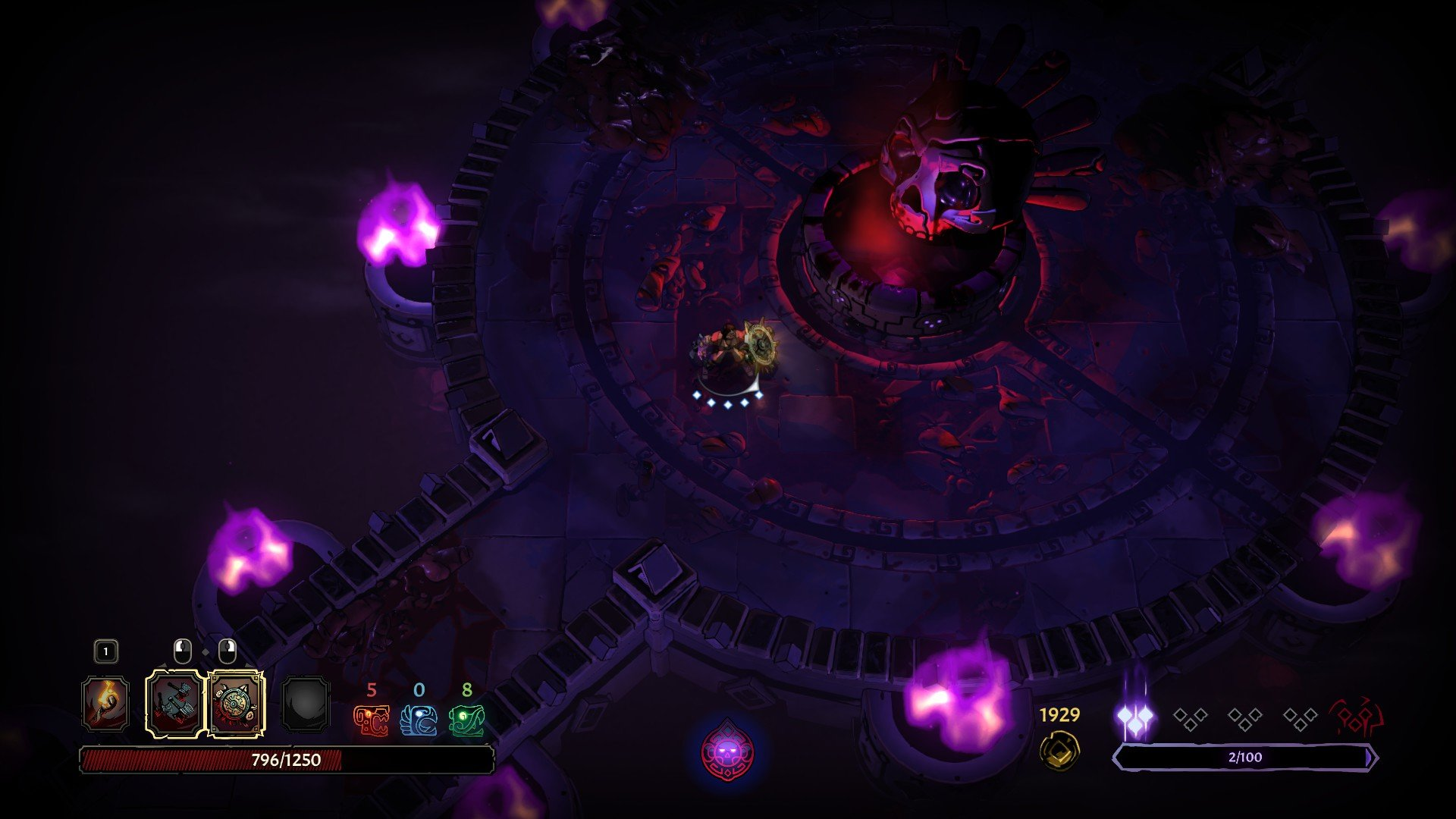 Curse of the Dead Gods - Healing Fountain Corruption