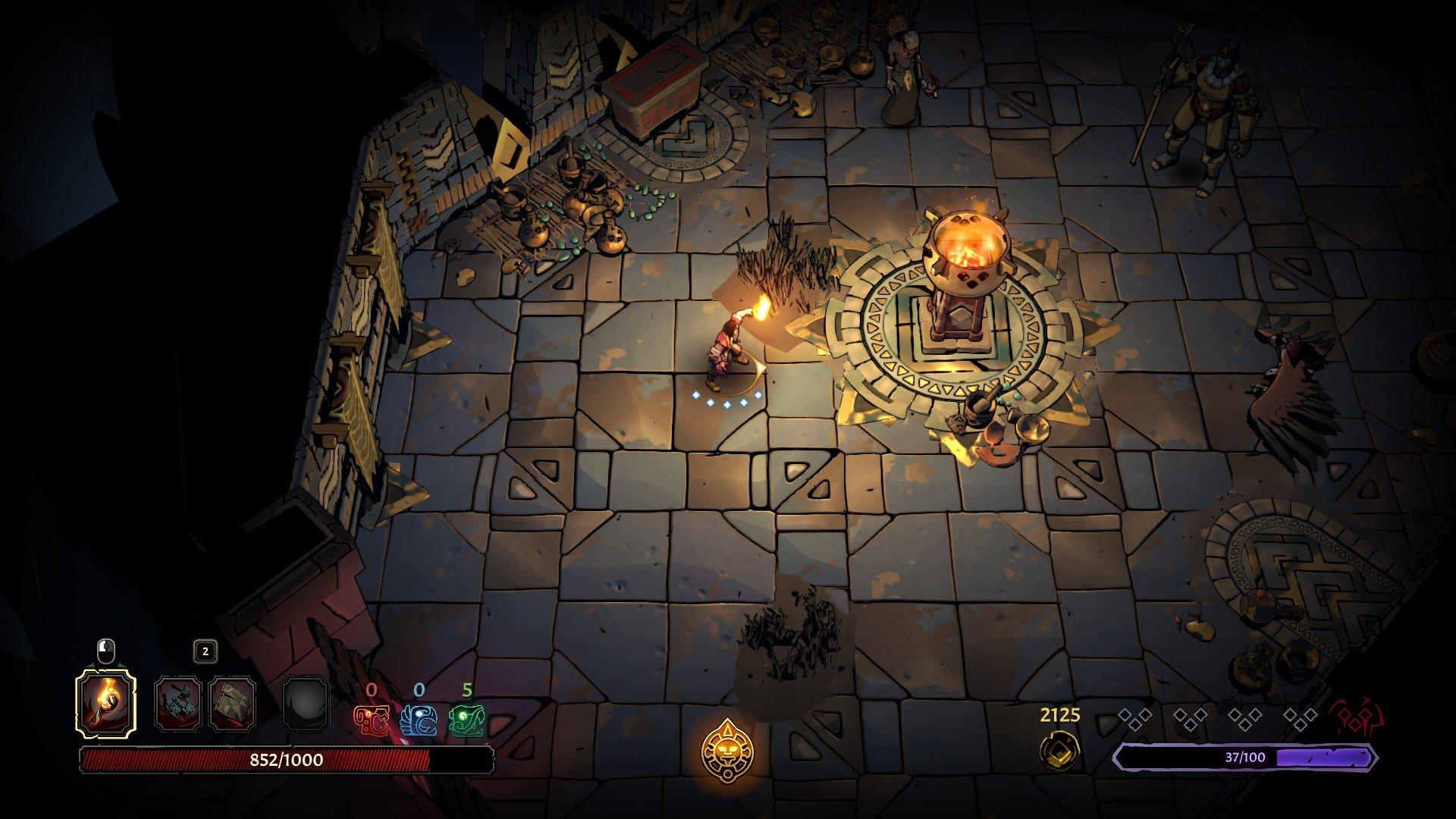 Curse of the Dead Gods - Parrying Screenshot