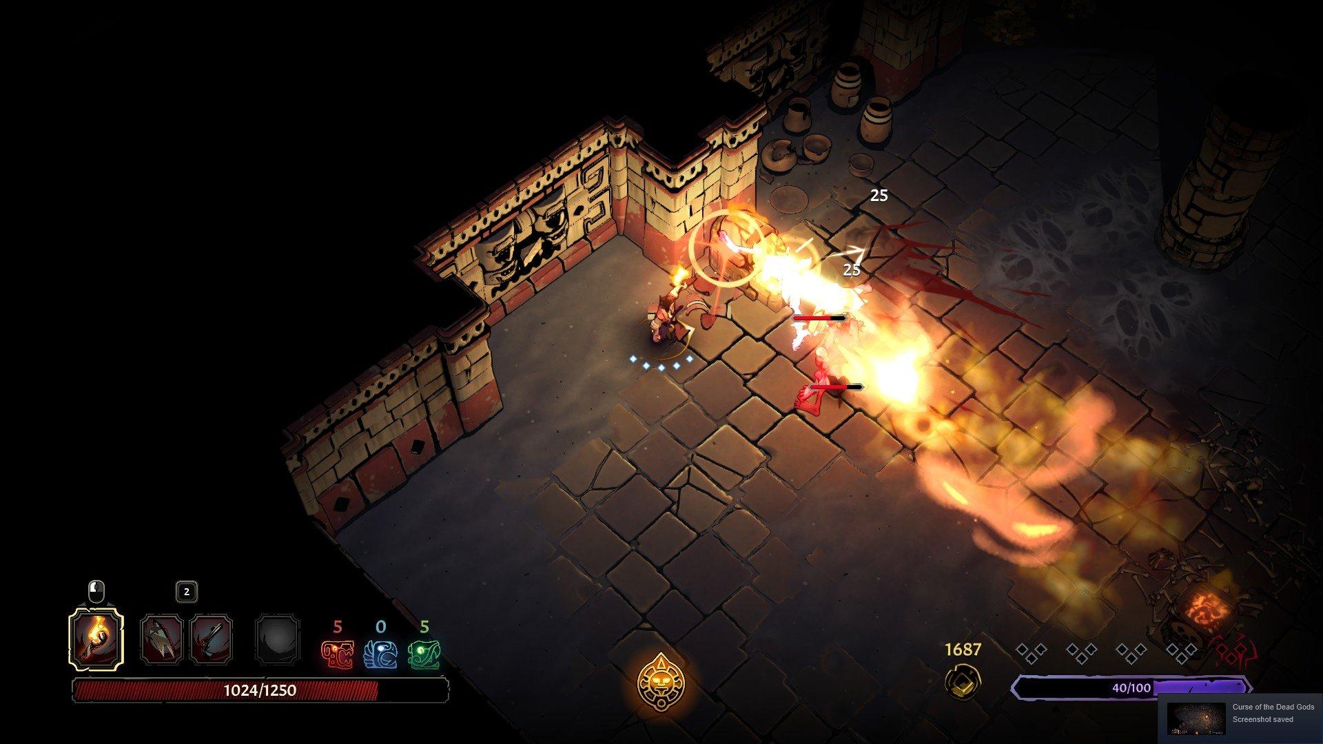 Curse of the Dead Gods - Trap Tip Screenshot