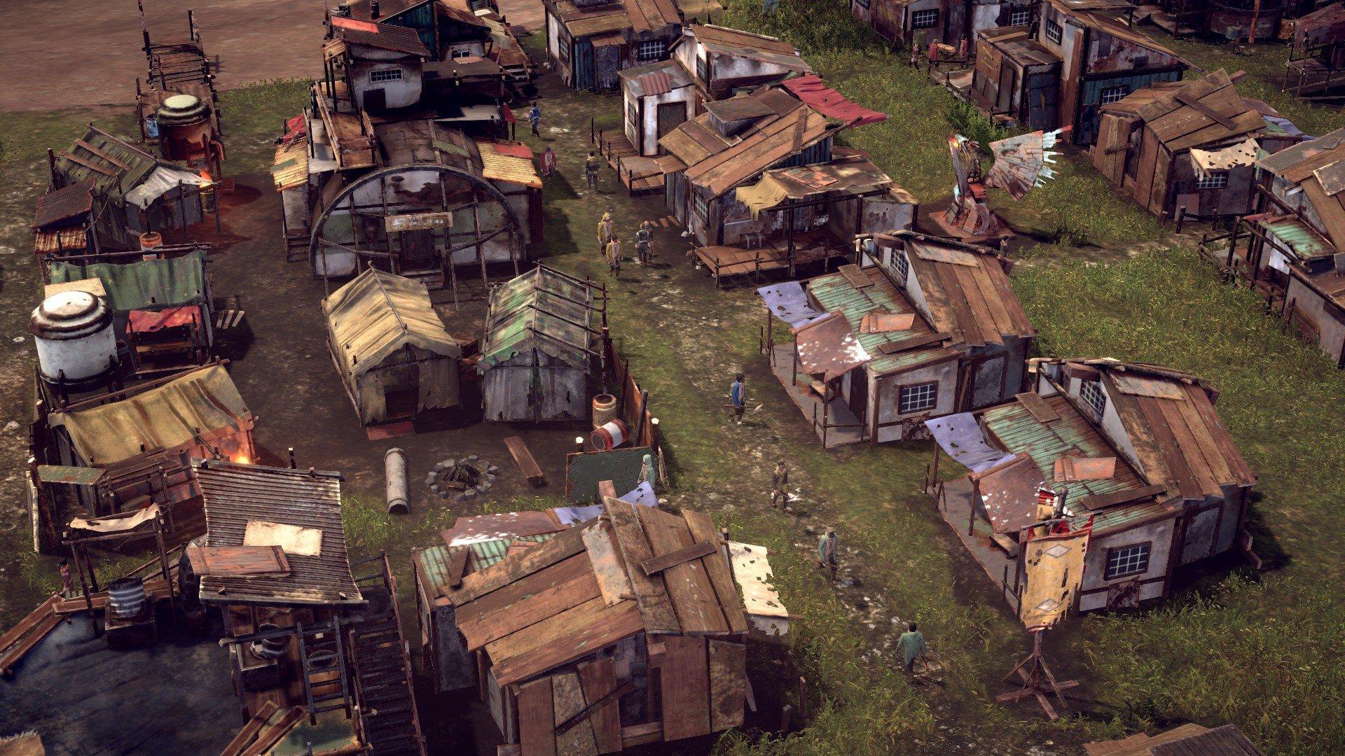 Endzone - A World Apart Screenshot of Shacks