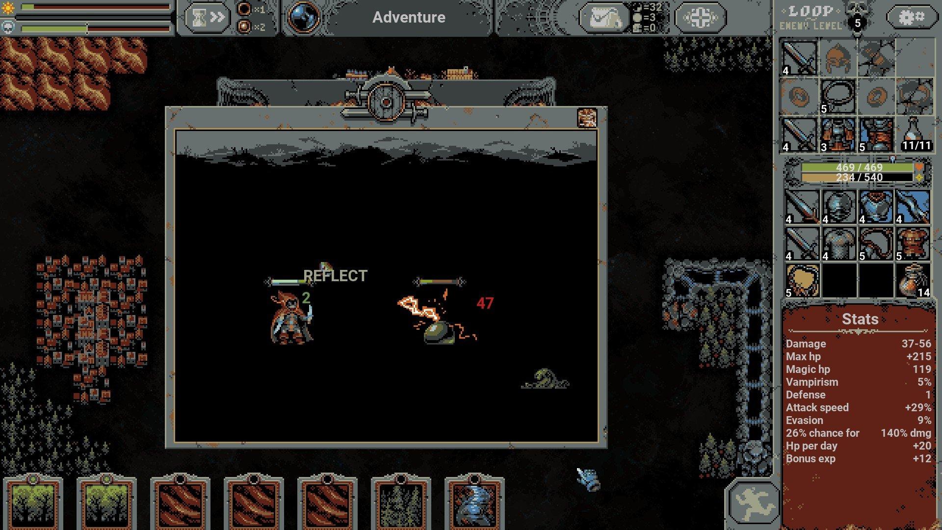 Loop Hero - Blood Lightning Guide