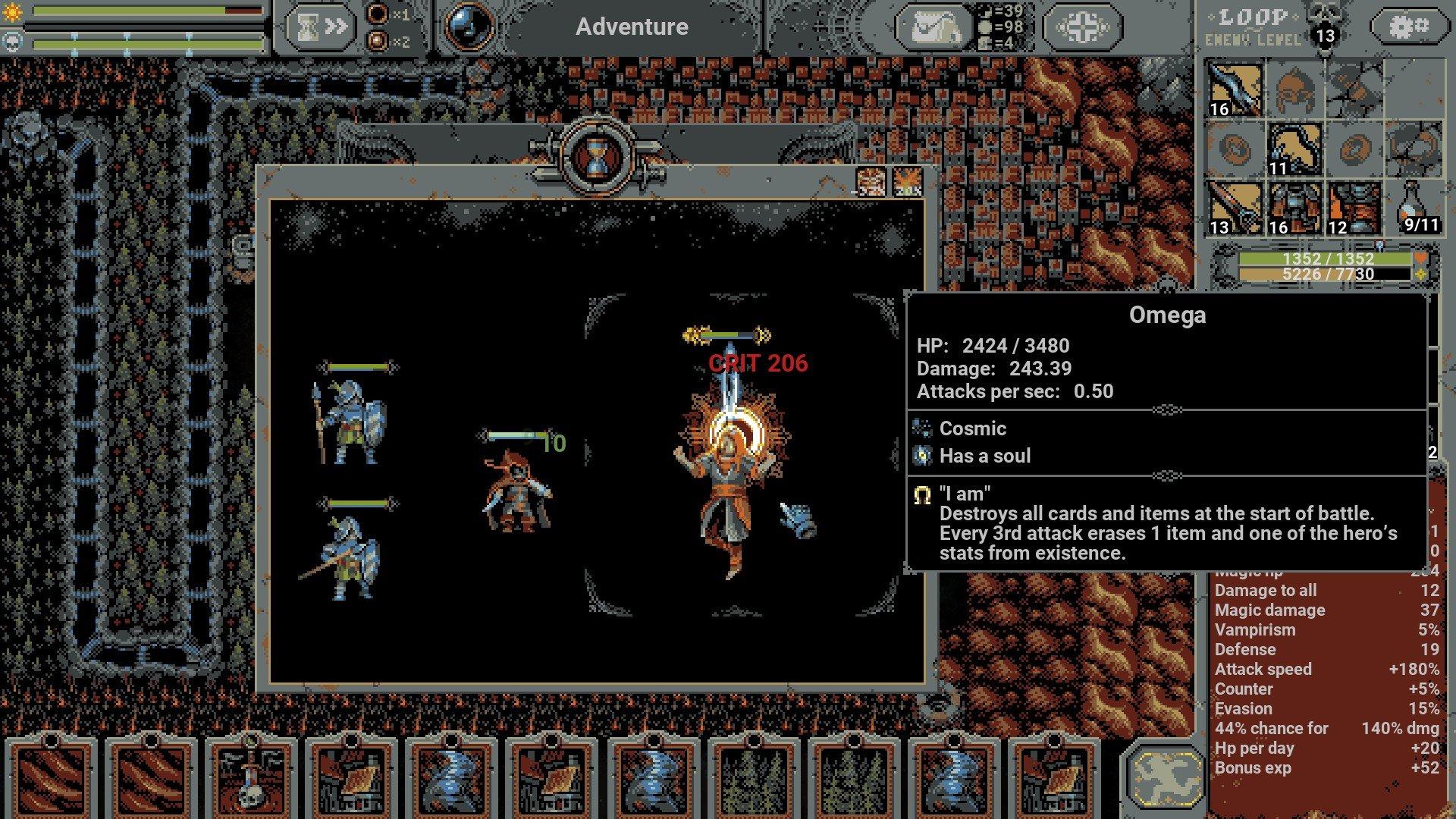 Loop Hero - Chapter 4 Boss Trait