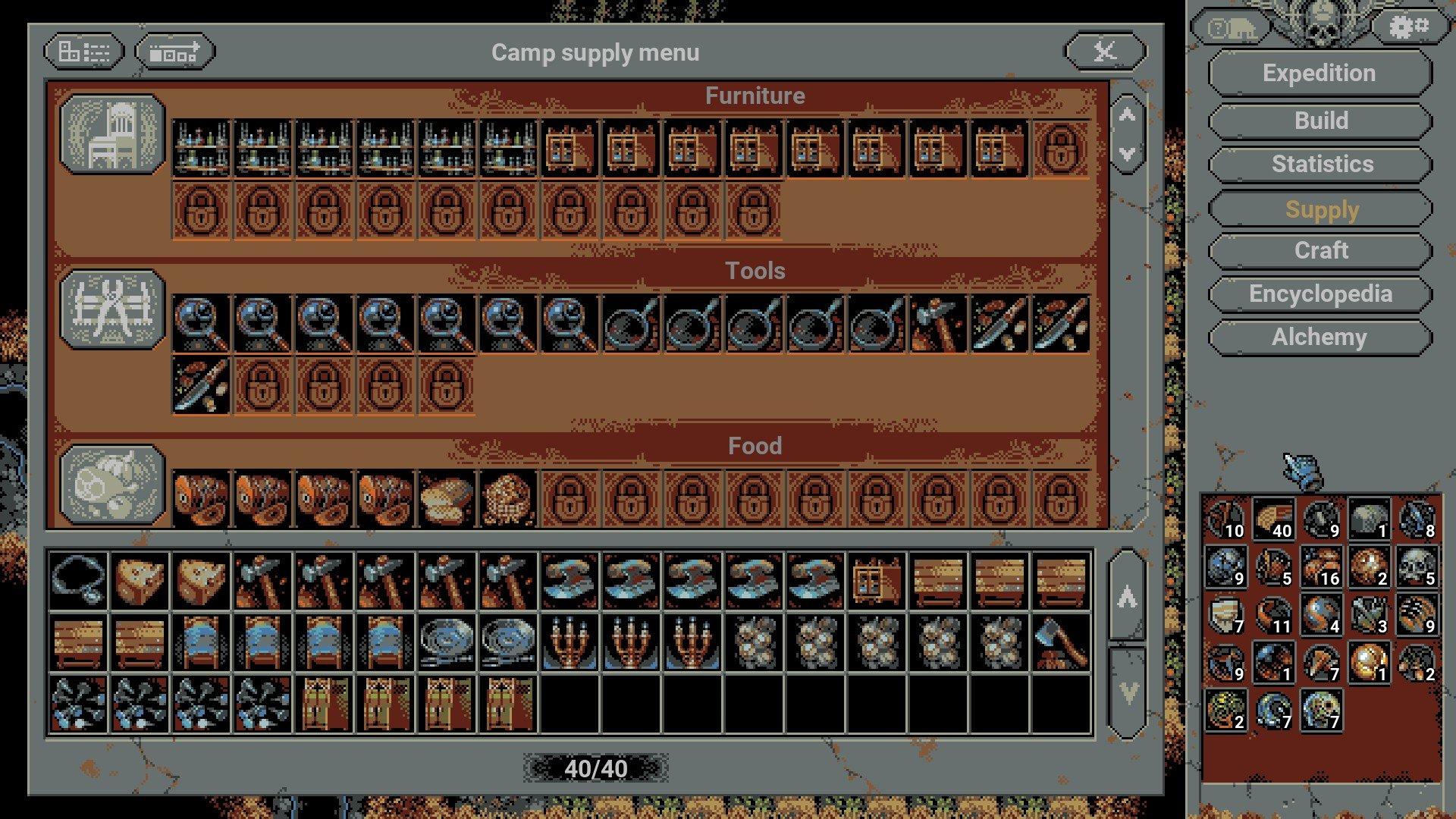 Loop Hero - Chapter 4 Supply Items