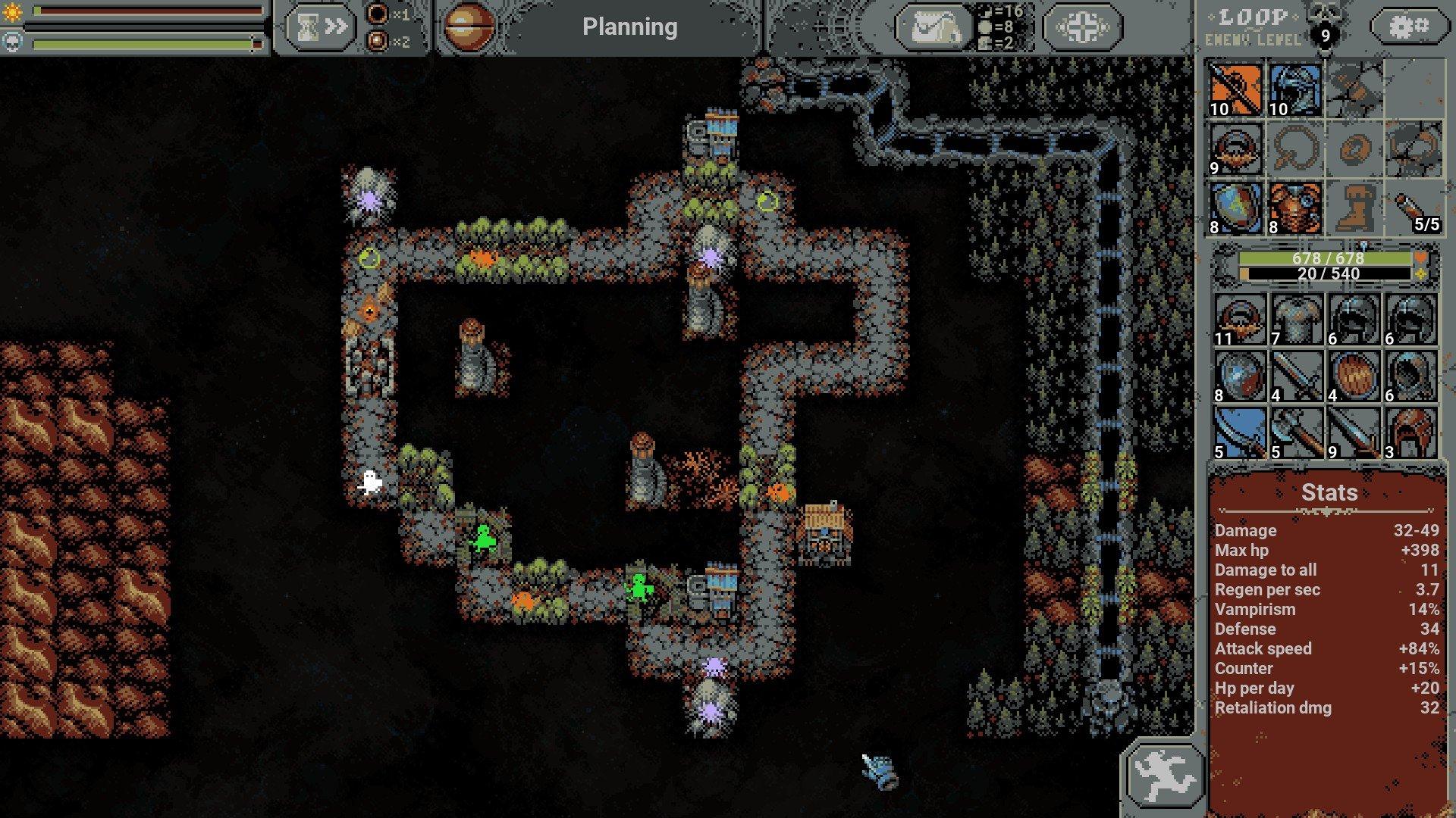 Loop Hero - Counter Guide Screenshot