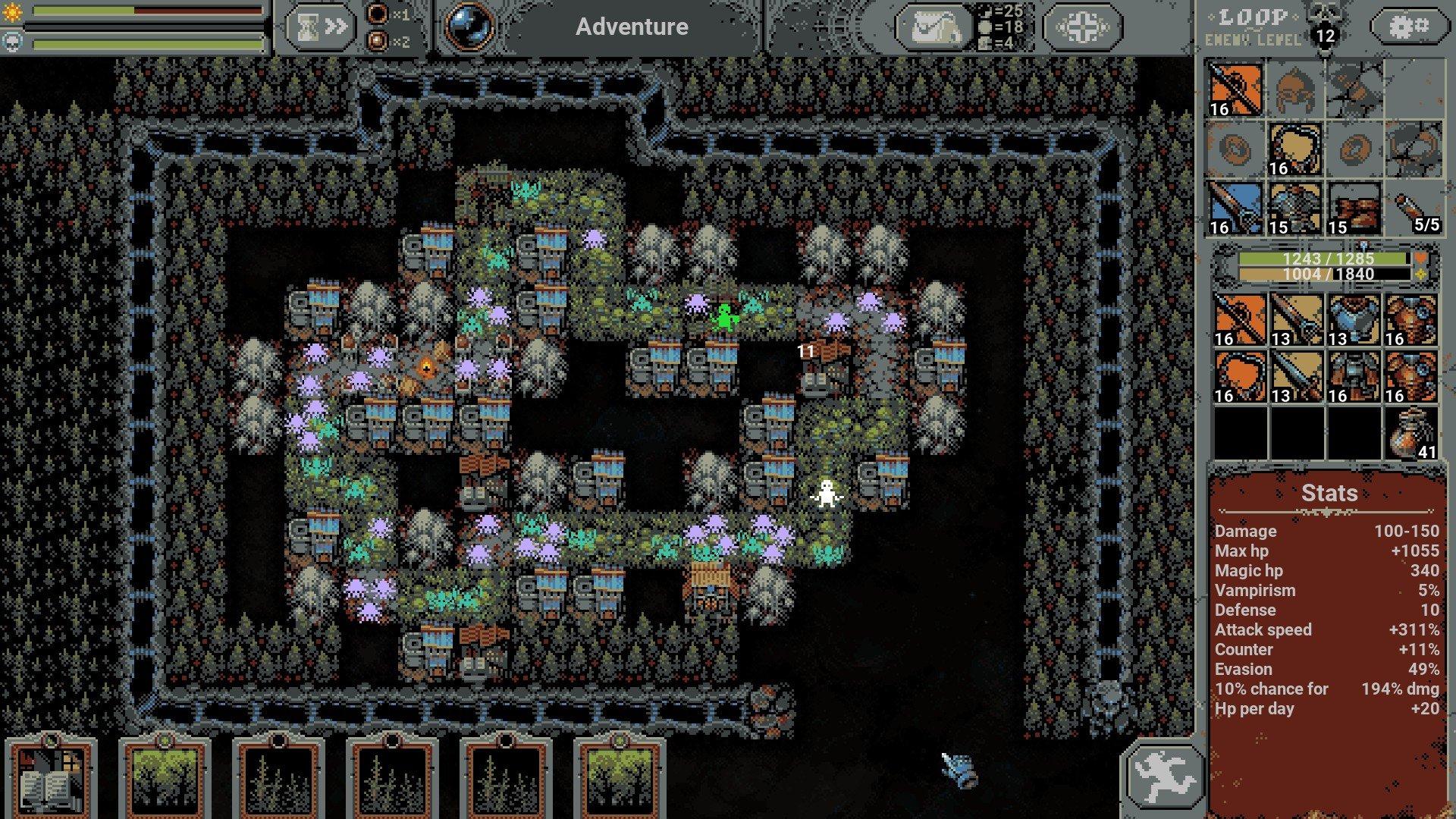 Loop Hero - Resource Grinding