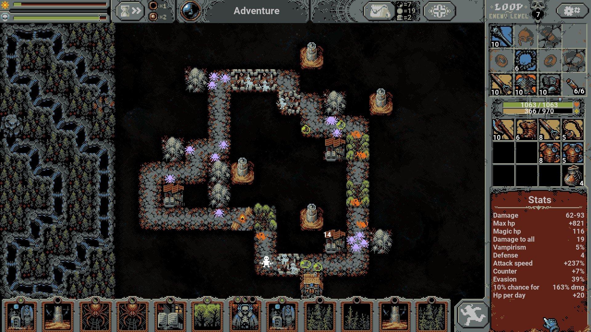 Loop Hero - River Placement Guide