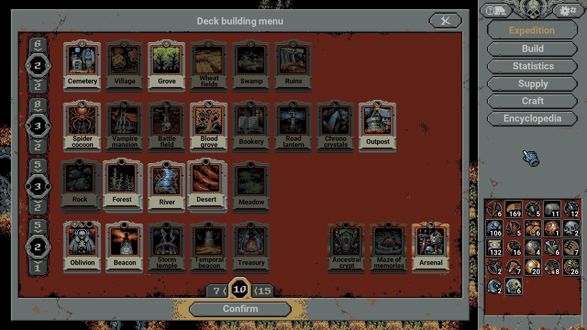 Loop Hero - Rogue Deck Cards