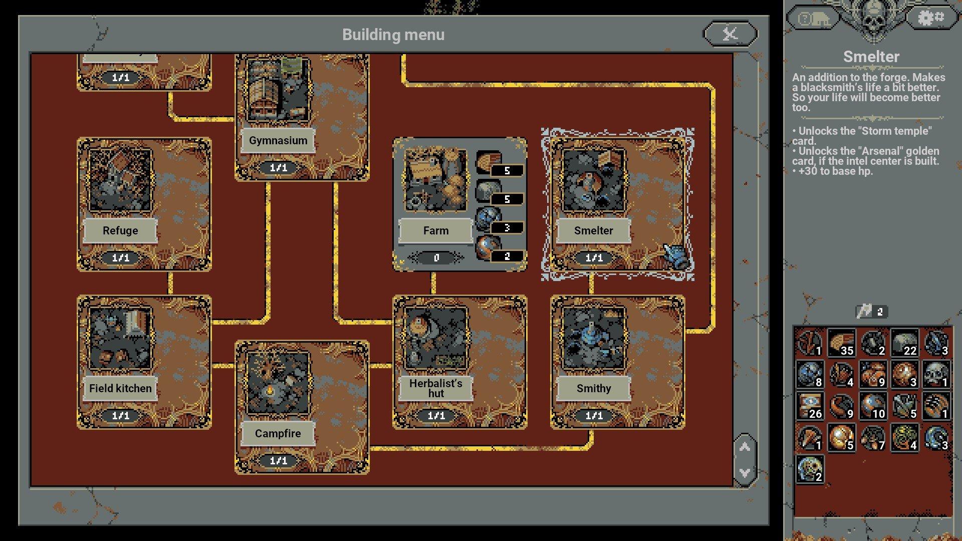 Loop Hero - Best Buildings Screenshot