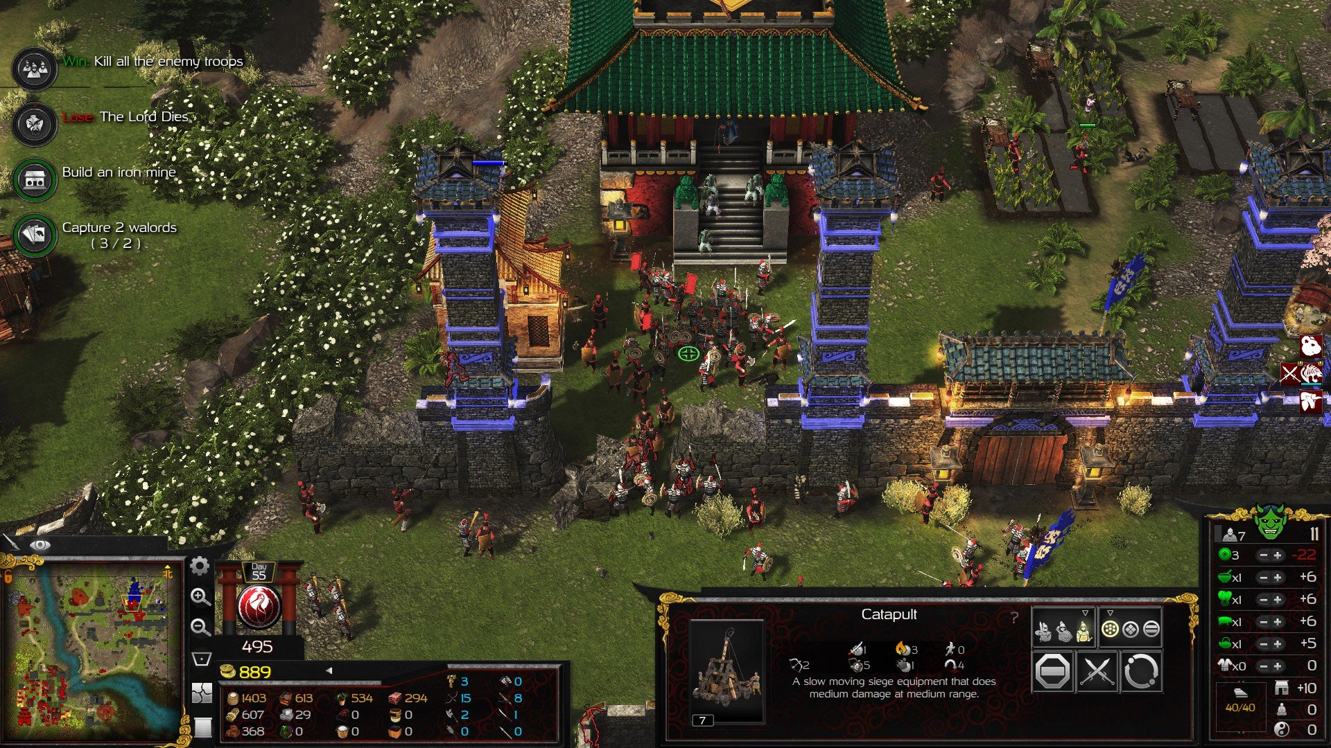 Stronghold Warlords Excellent Return Screenshot