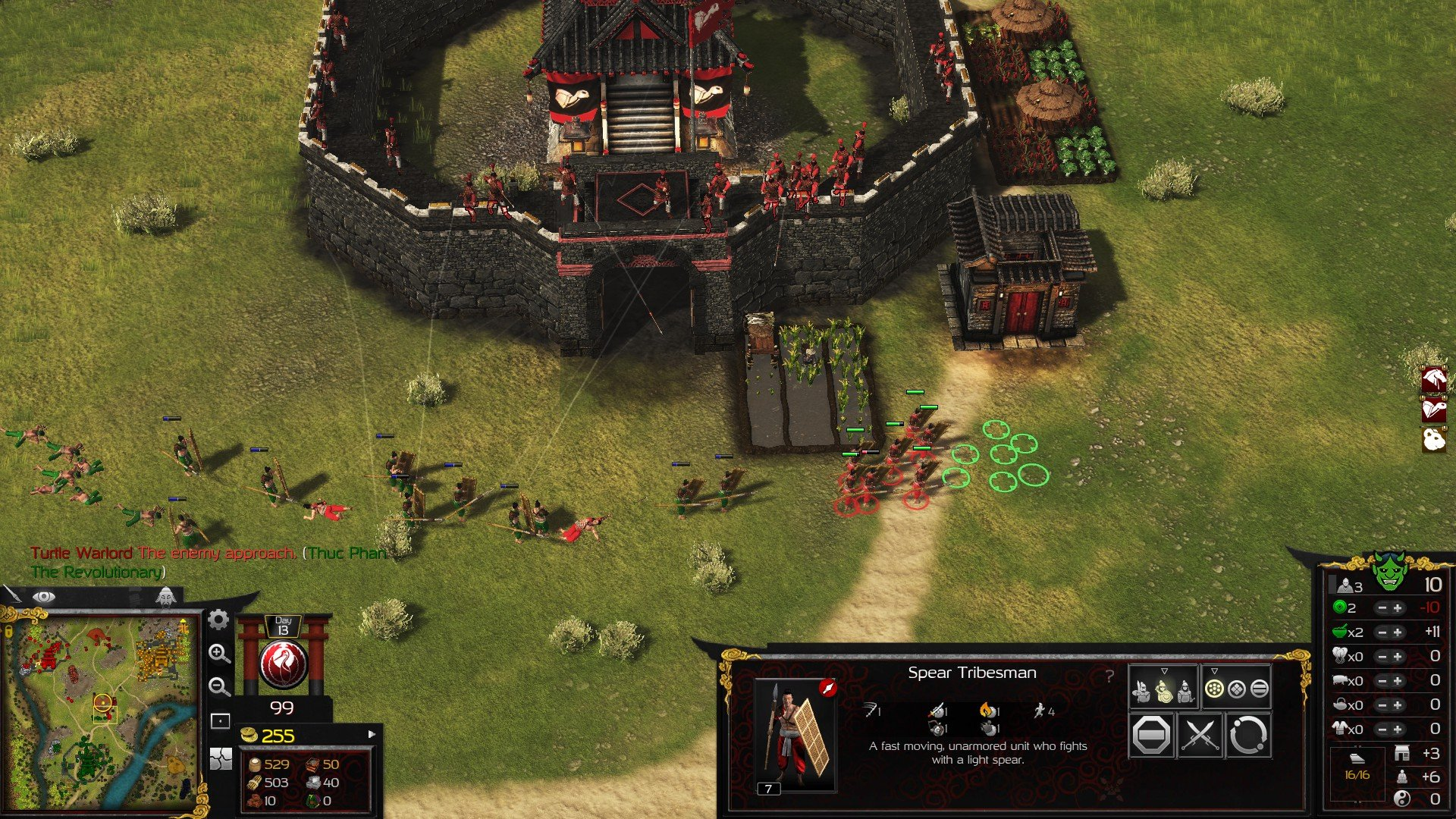 Stronghold Warlords RTS Kiting Tip
