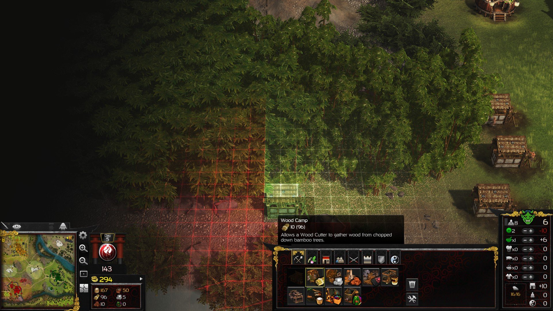 Stronghold Warlords Trees Screenshot