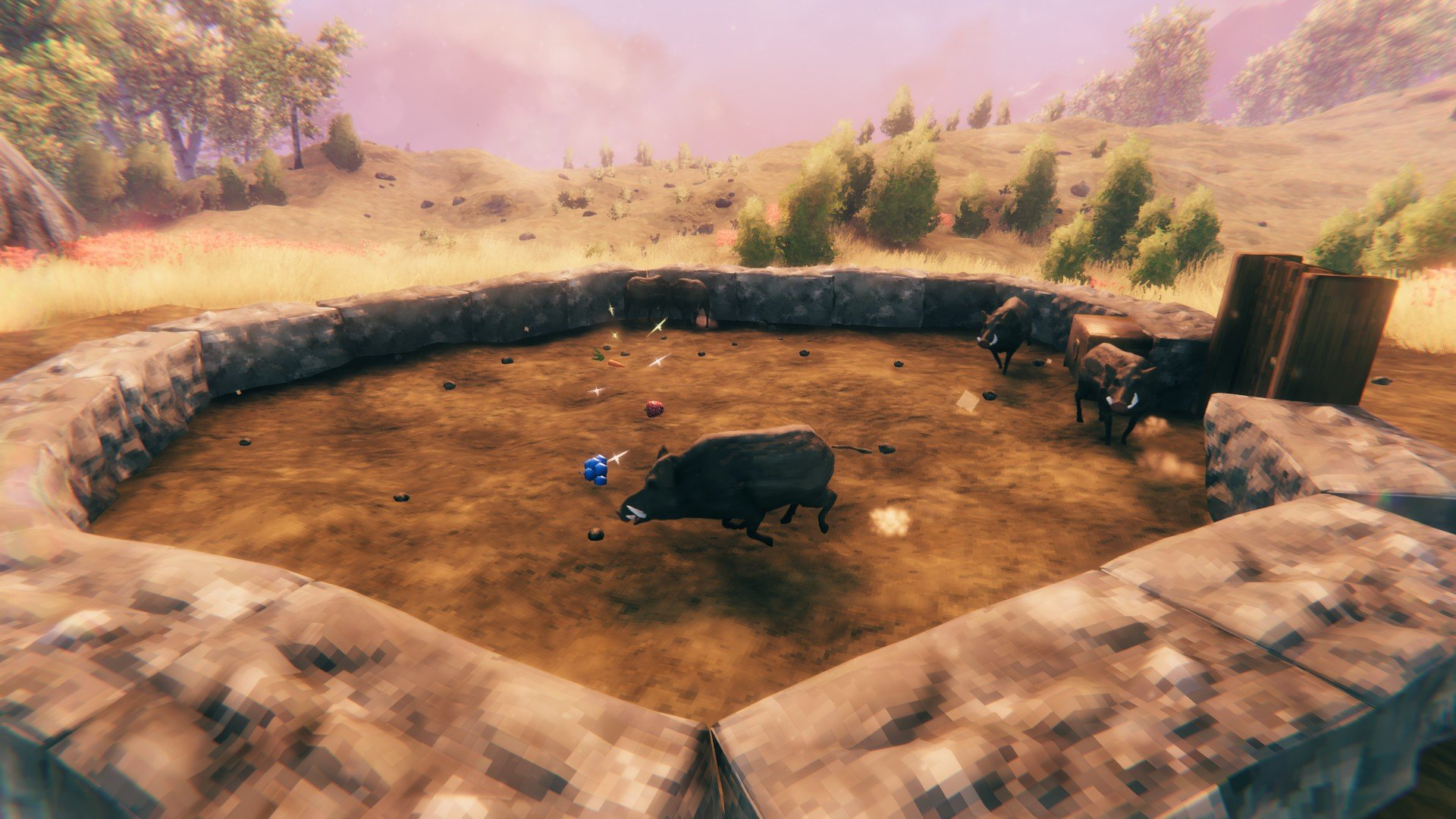 Valheim - What to Feed Boars Guide