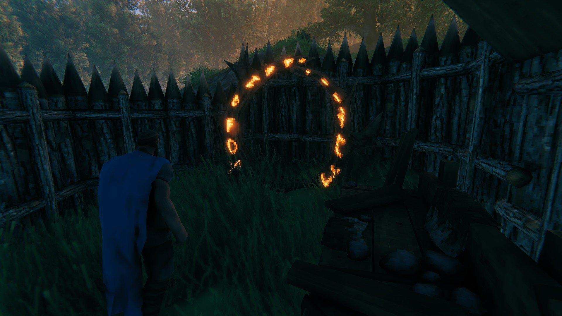 Valheim - Will Mobs Attack Portals