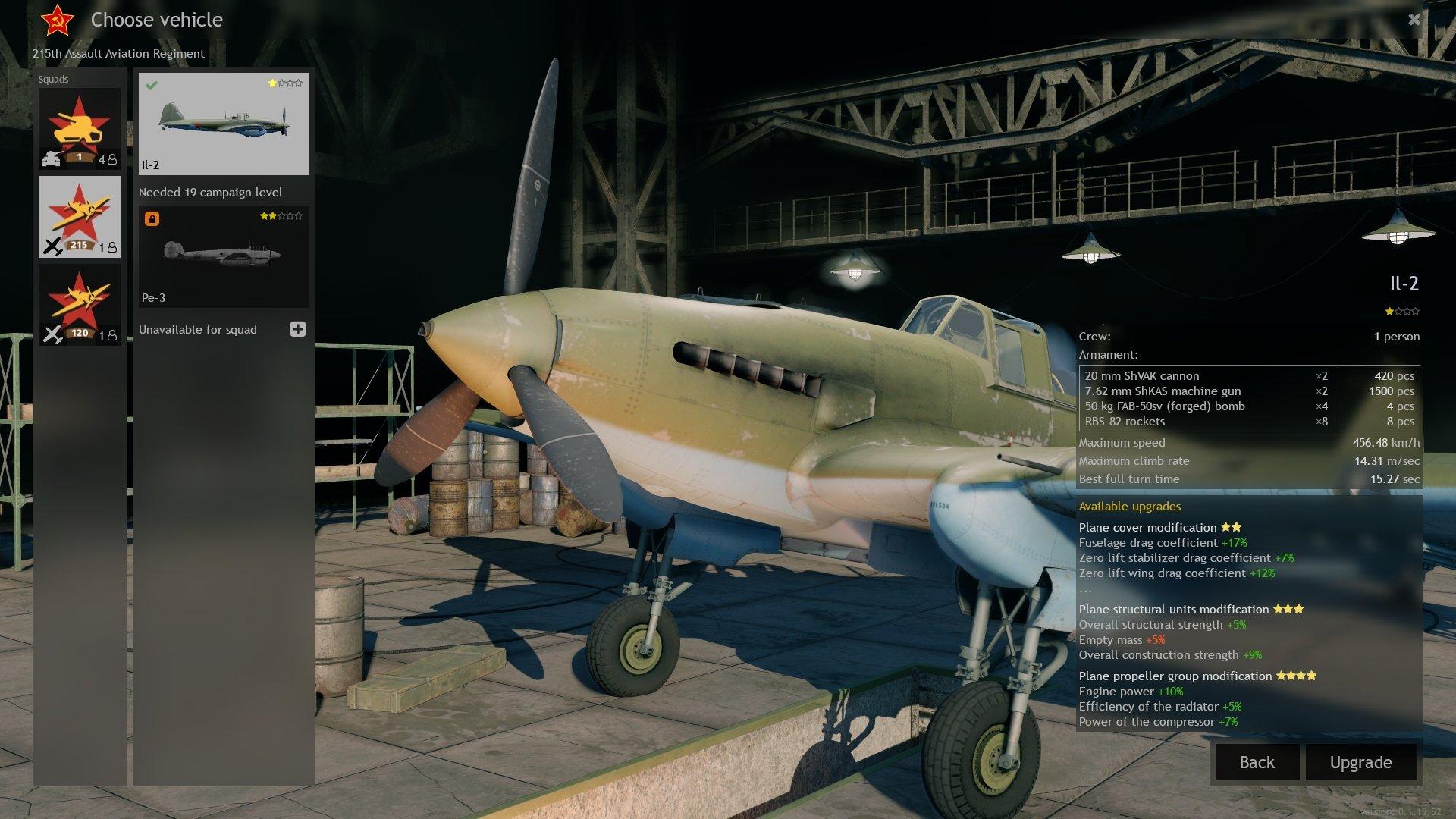 Enlisted - Lobby Plane Screenshot