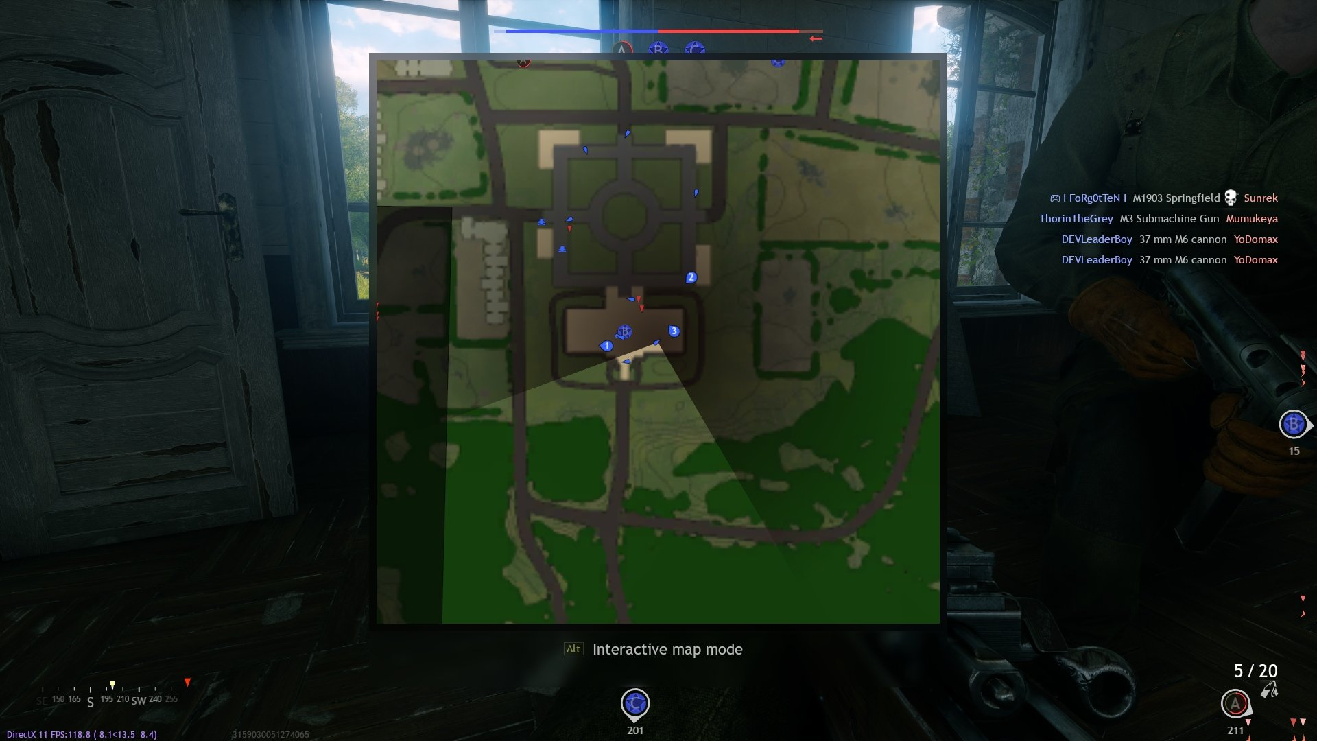 Enlisted - Lone Fighters Mode Respawn Tip