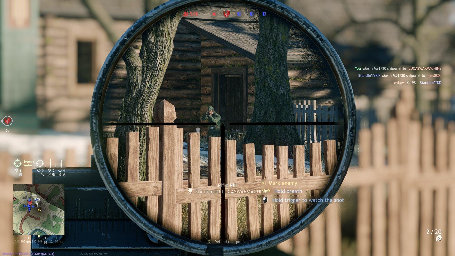 Enlisted Sniper Screenshot