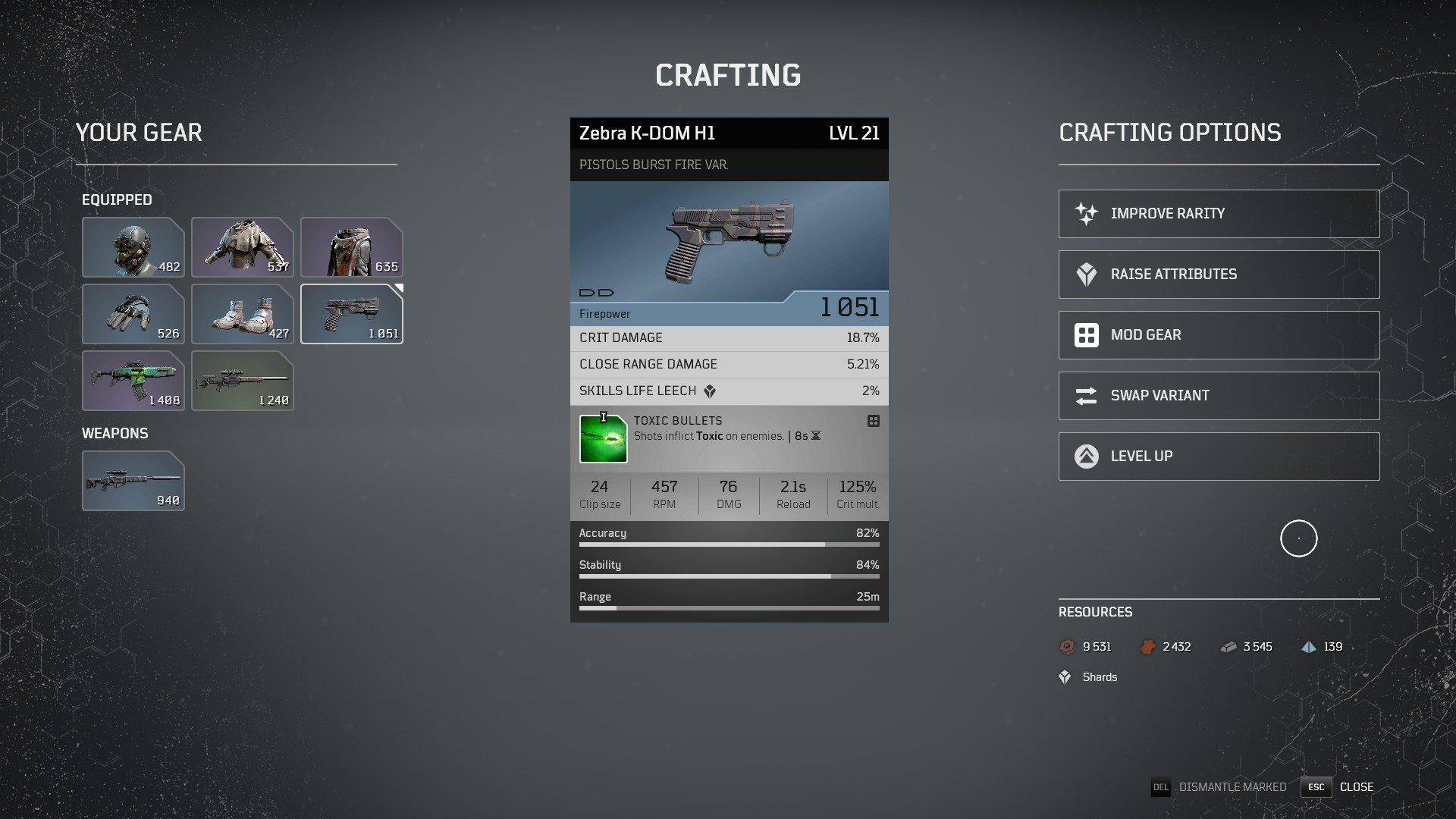 Outriders - Crafting System