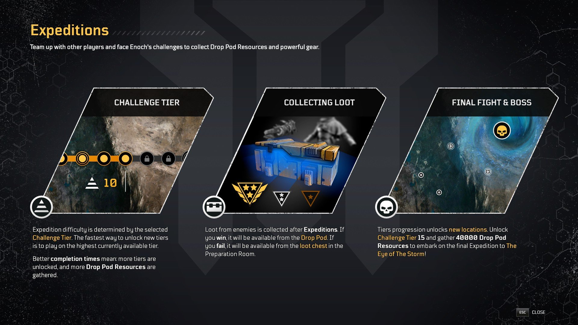 Outriders - Expeditions Explained