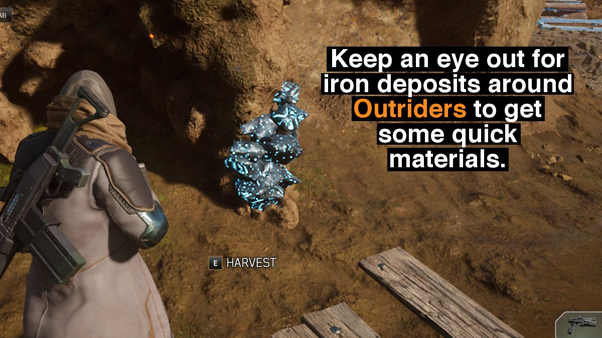 Outriders Iron Deposit Tip
