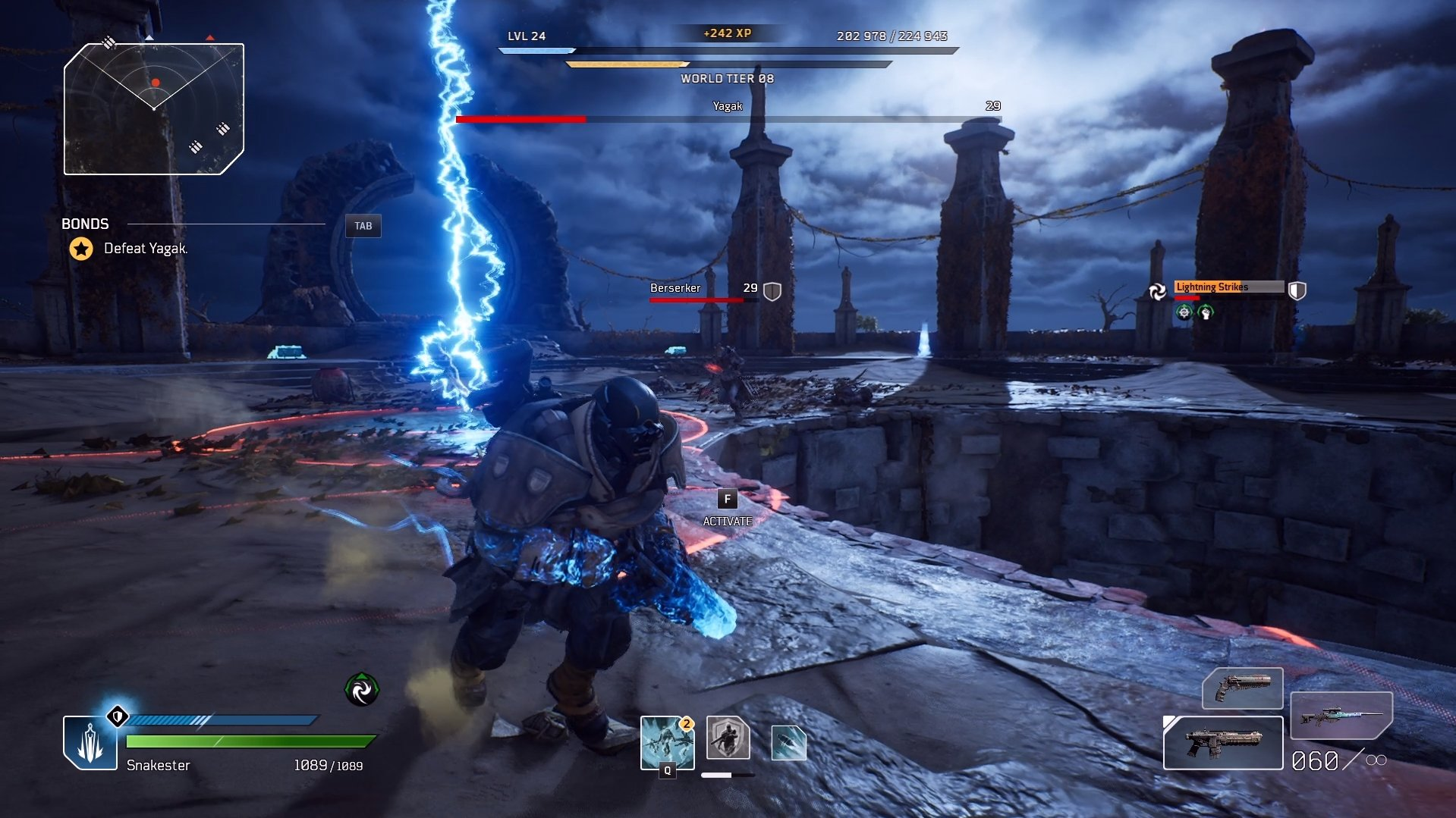 Outriders - Lightning Strikes AoE