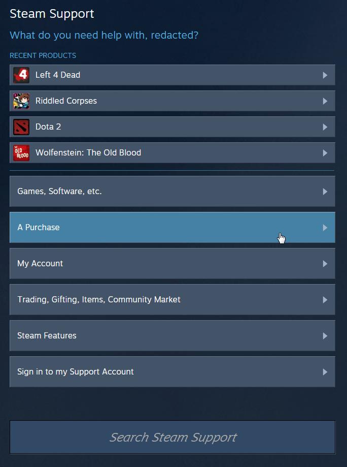 Steam - How to Refund Games