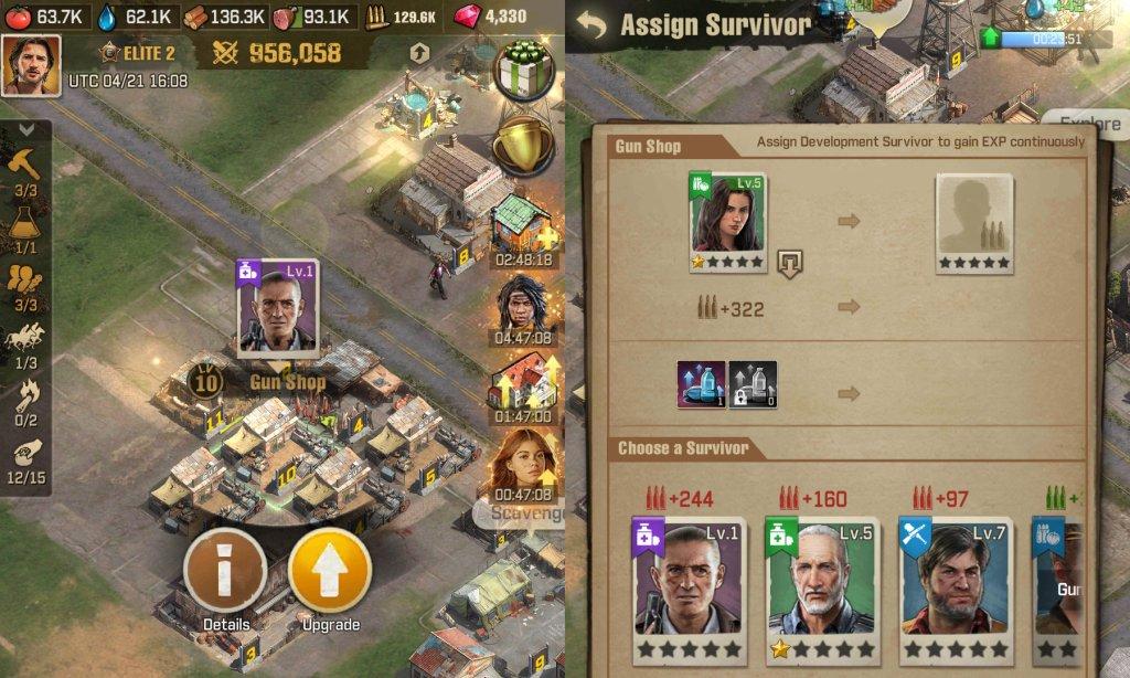 The Walking Dead Survivors Assign Jobs Guide