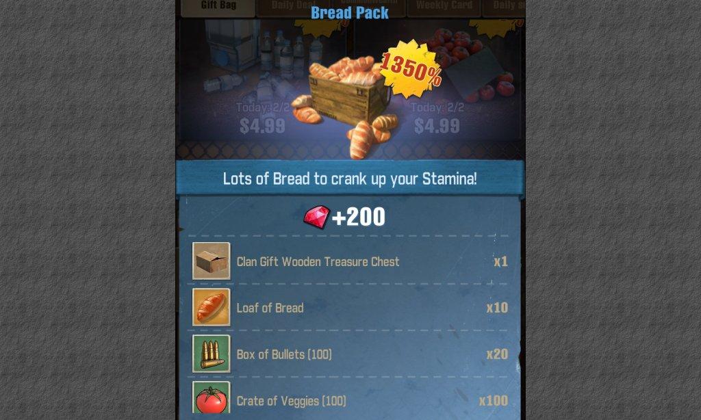 The Walking Dead Survivors Bread Pack 3