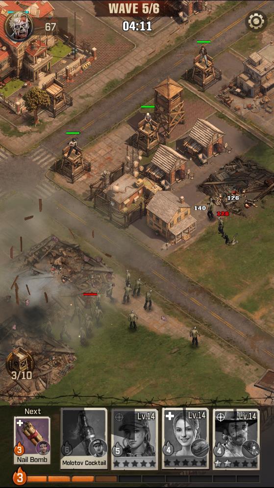 The Walking Dead Survivors - Settlement Siege Tip