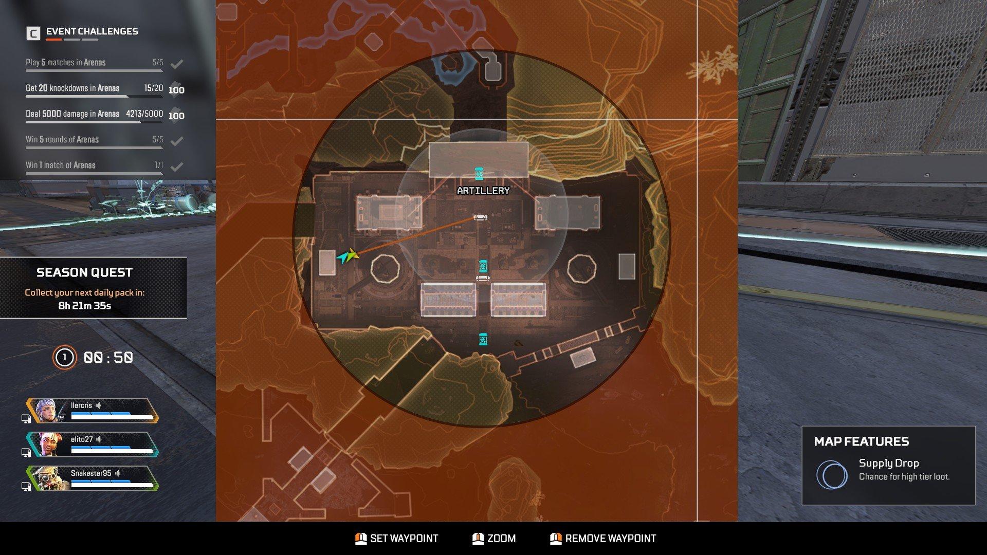 Apex Legends - Artillery Map Tips