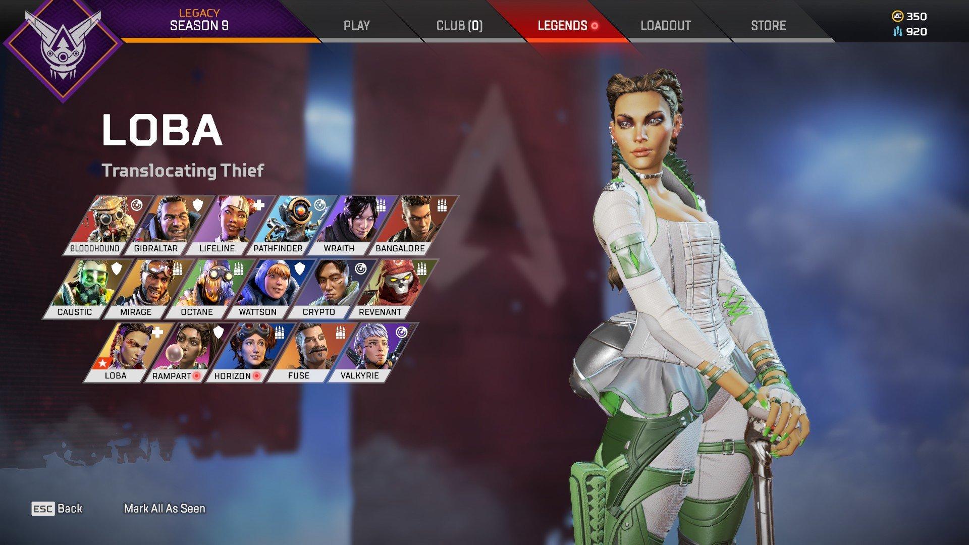 Apex Legends - Feature Character Screenshot