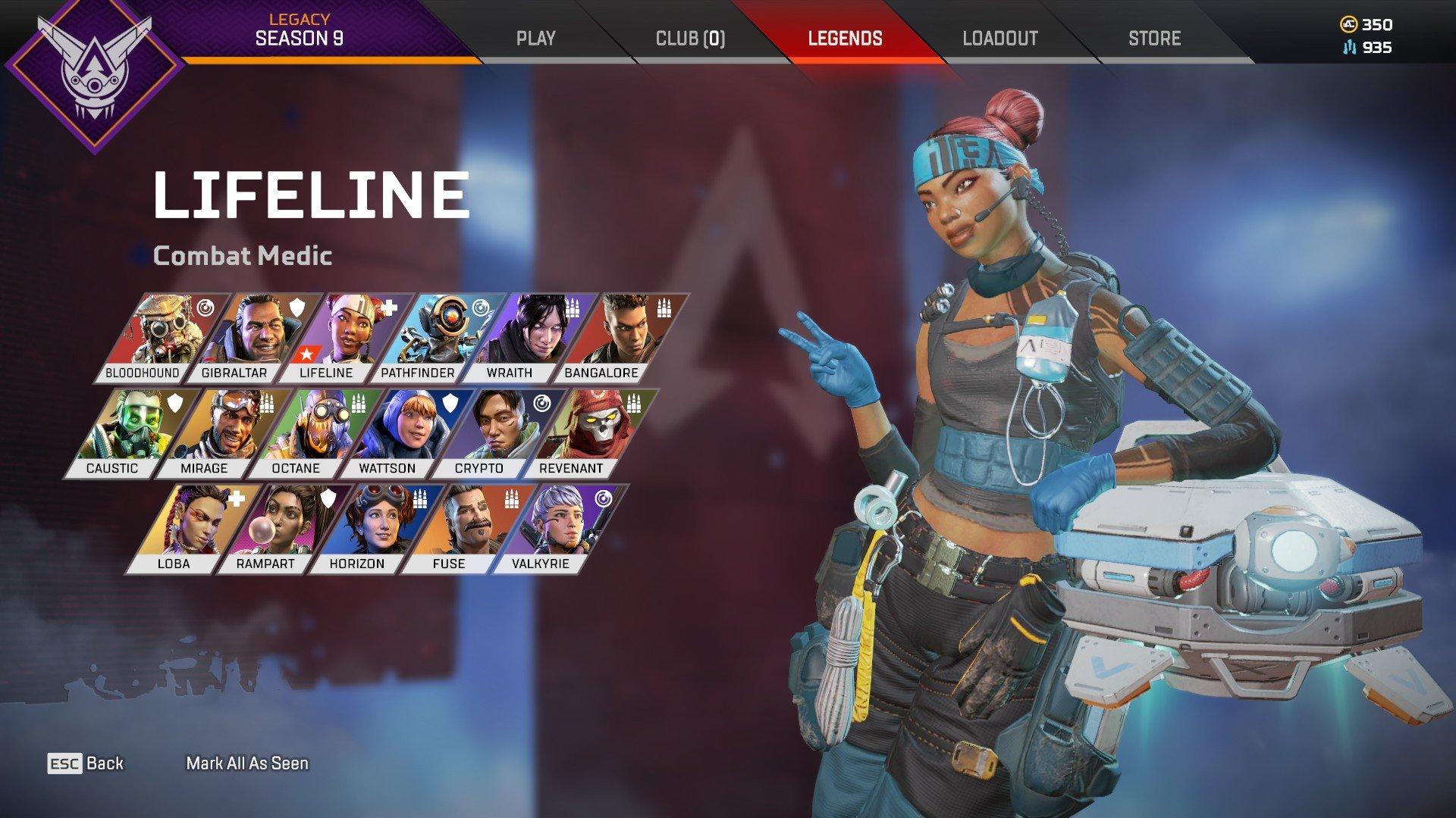 Apex Legends - Lifeline Character Arena