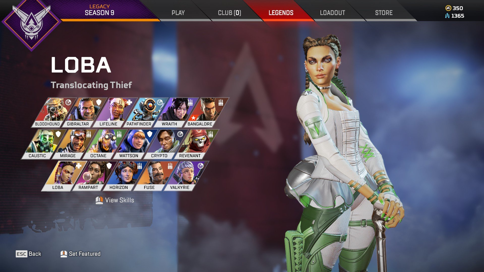Apex Legends - Loba Unlock Tips