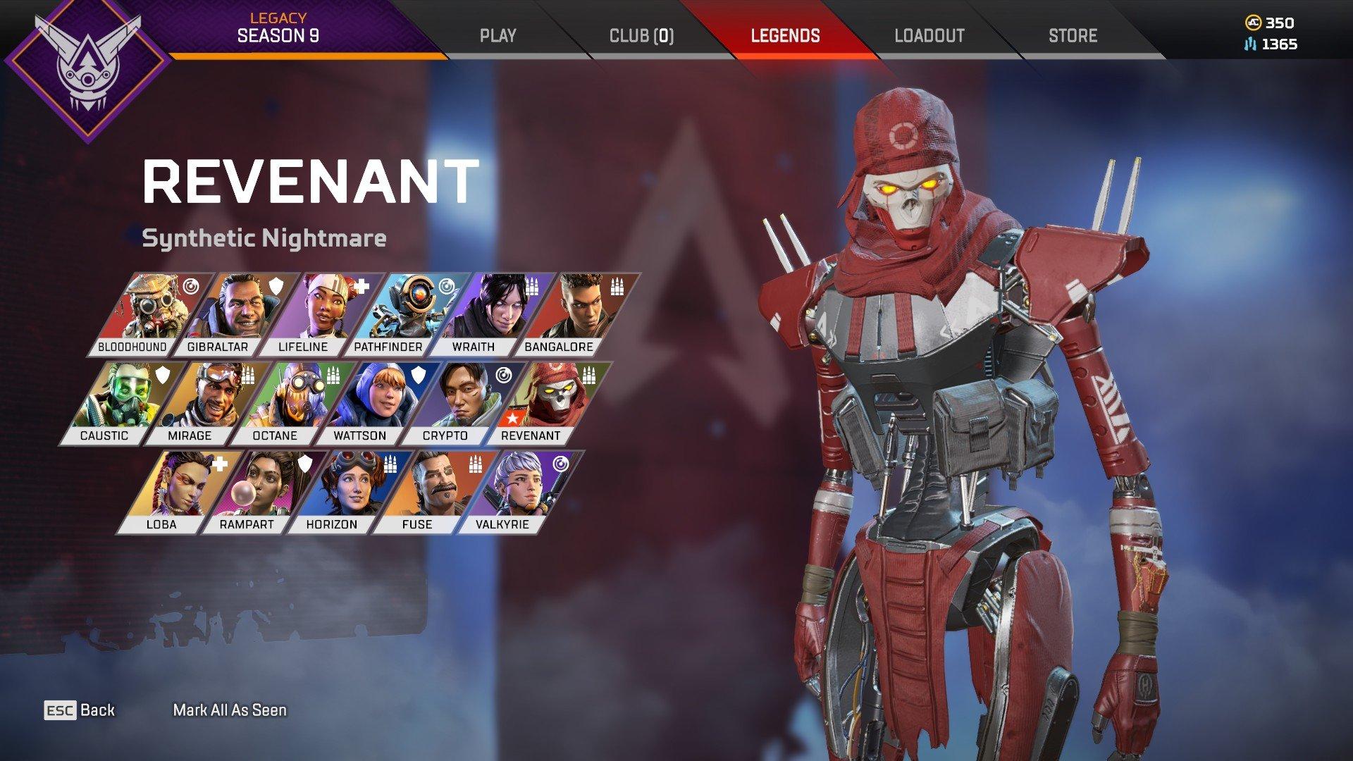 Apex Legends - Revenant Unlock Tips