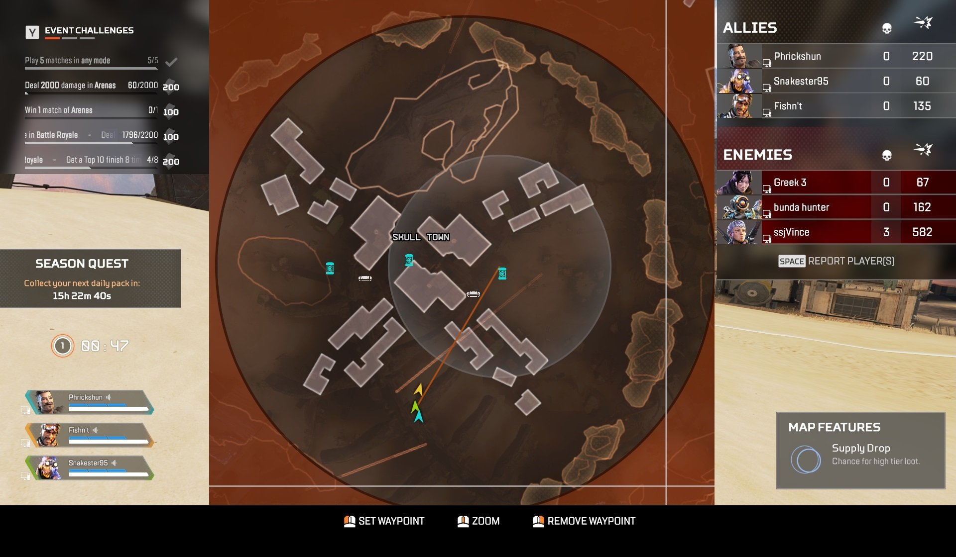 Apex Legends - Skull Town Tips