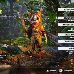 Biomutant - Character Classes Screenshot