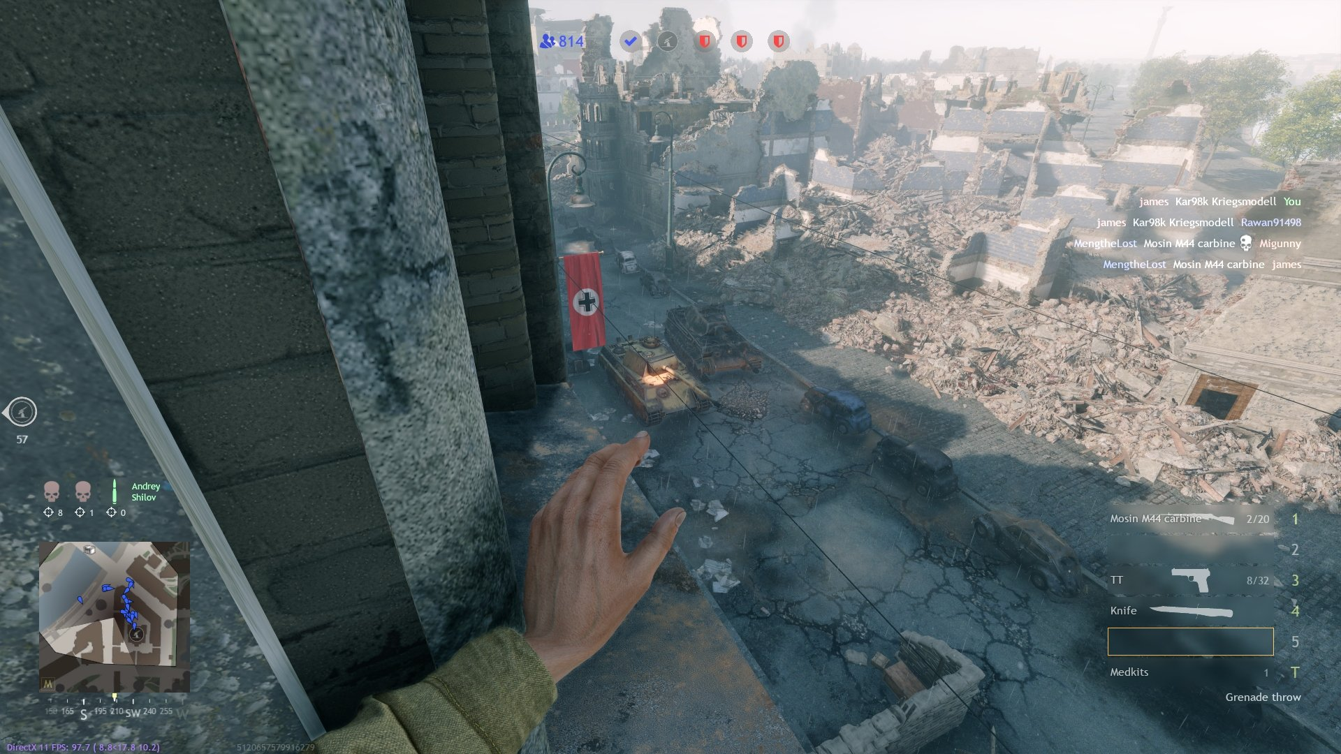 Enlisted - Explosive Packs Tanks Screenshot