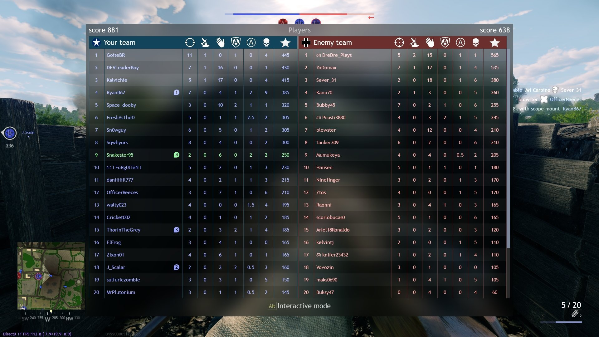 Enlisted - Lone Fighters Mode Players