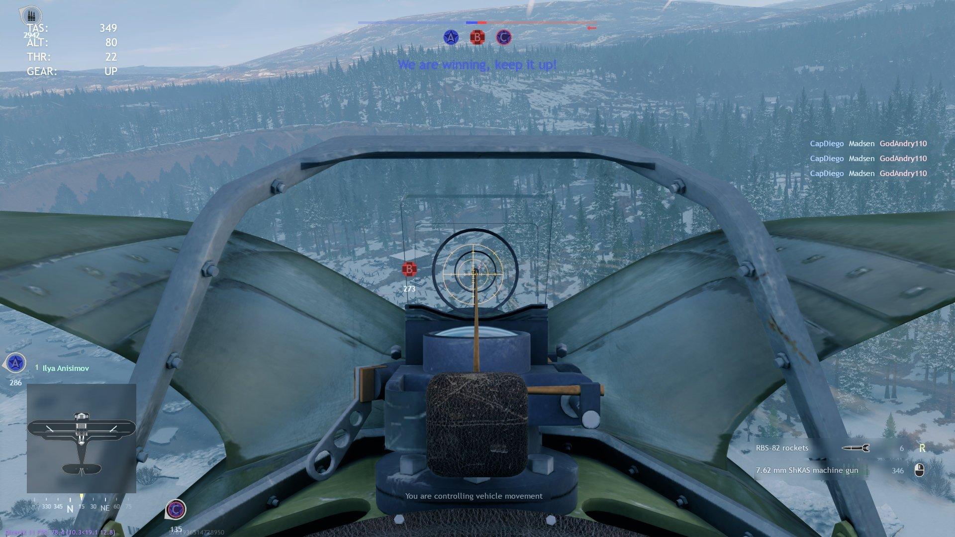Enlisted - Attack Pilot Planes Squad Screenshot