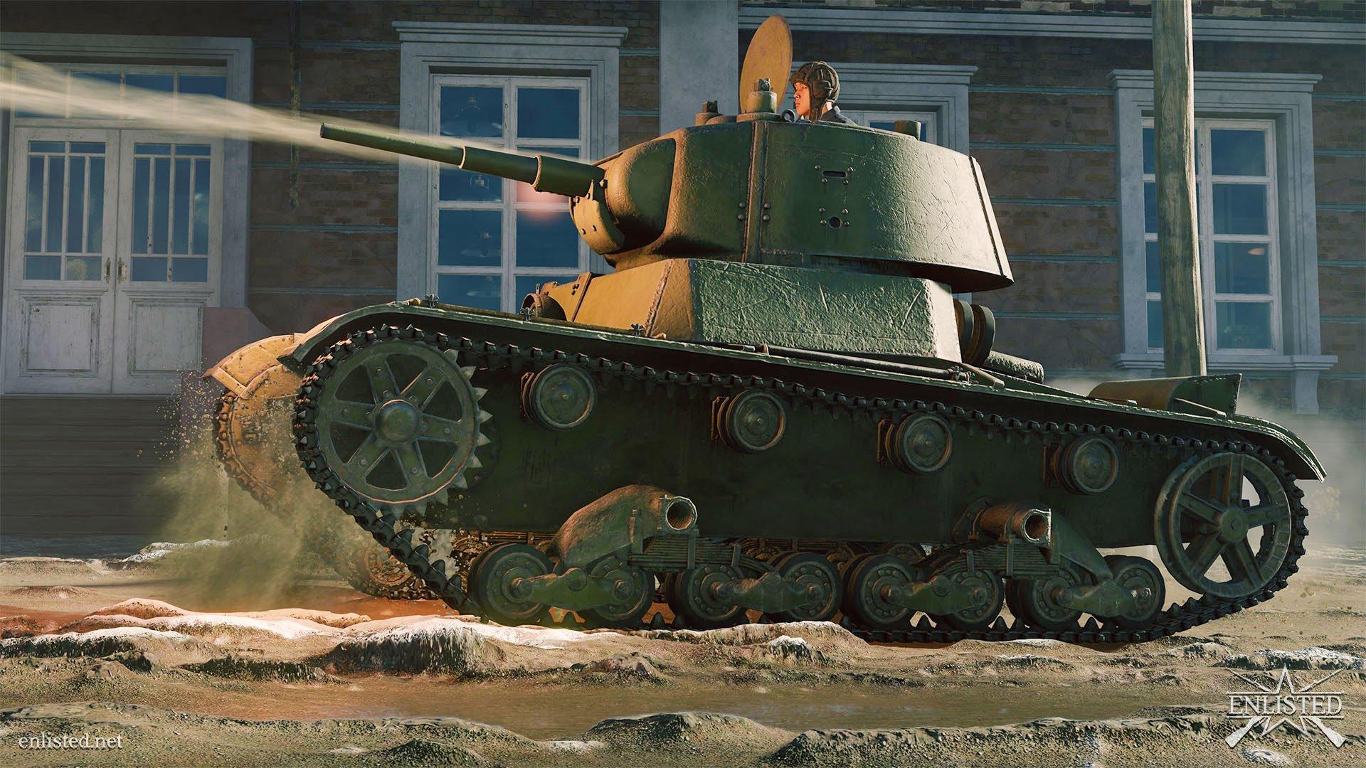 Enlisted - Tank Screenshot Tip