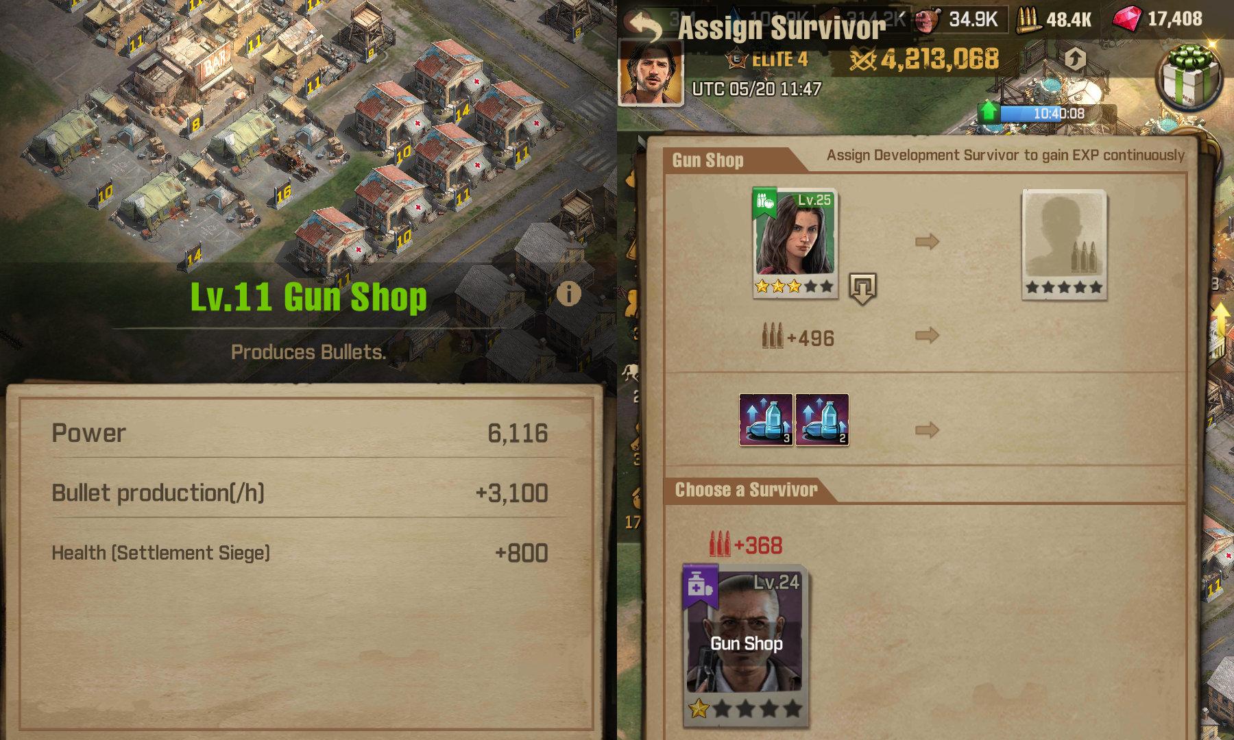 The Walking Dead Survivors - Gun Shop Bullets Tip