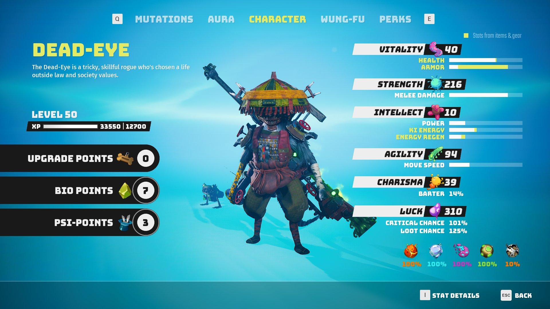 Biomutant - Max Level Screenshot
