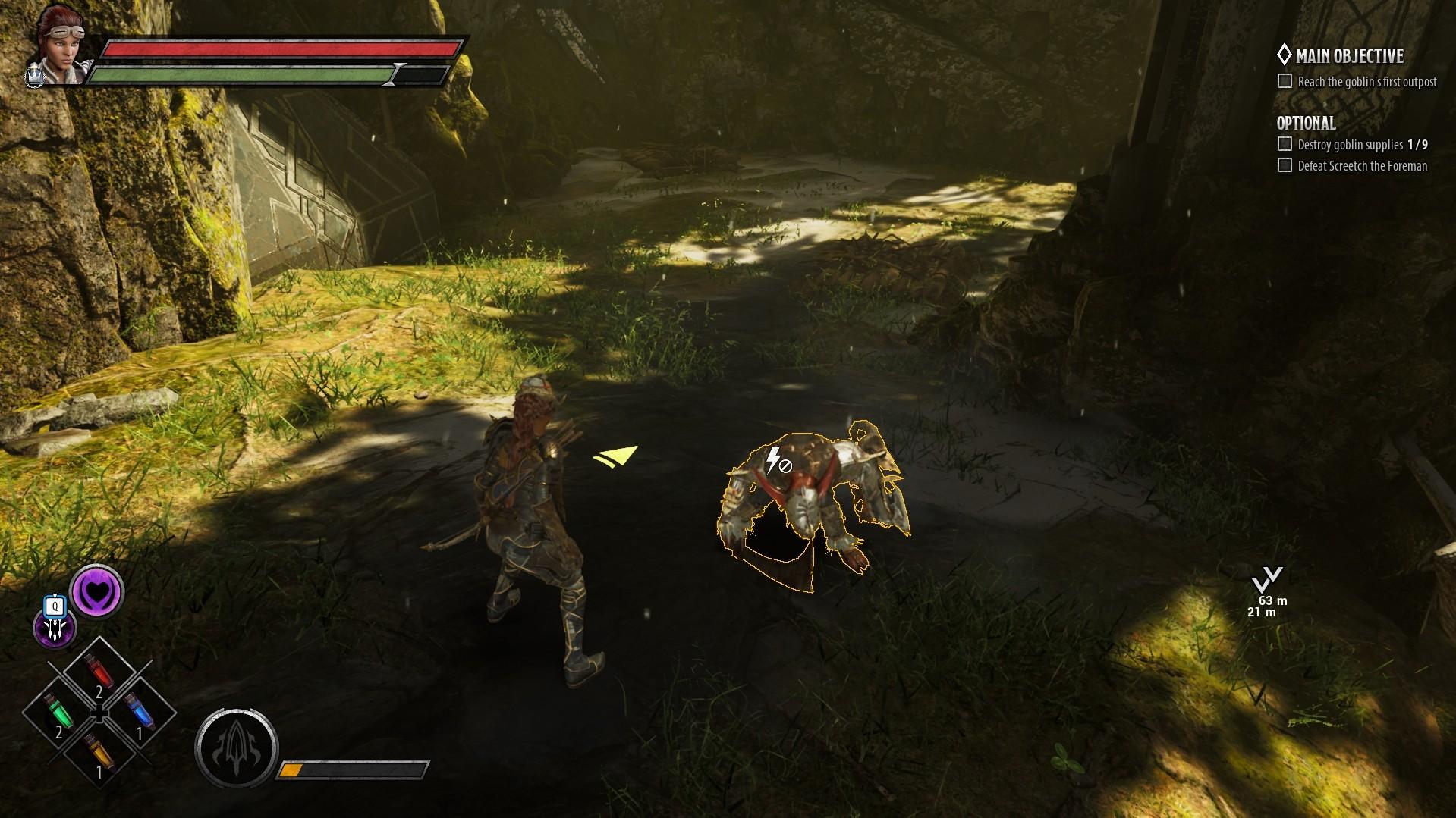 Dark Alliance - Execute Screenshot 2