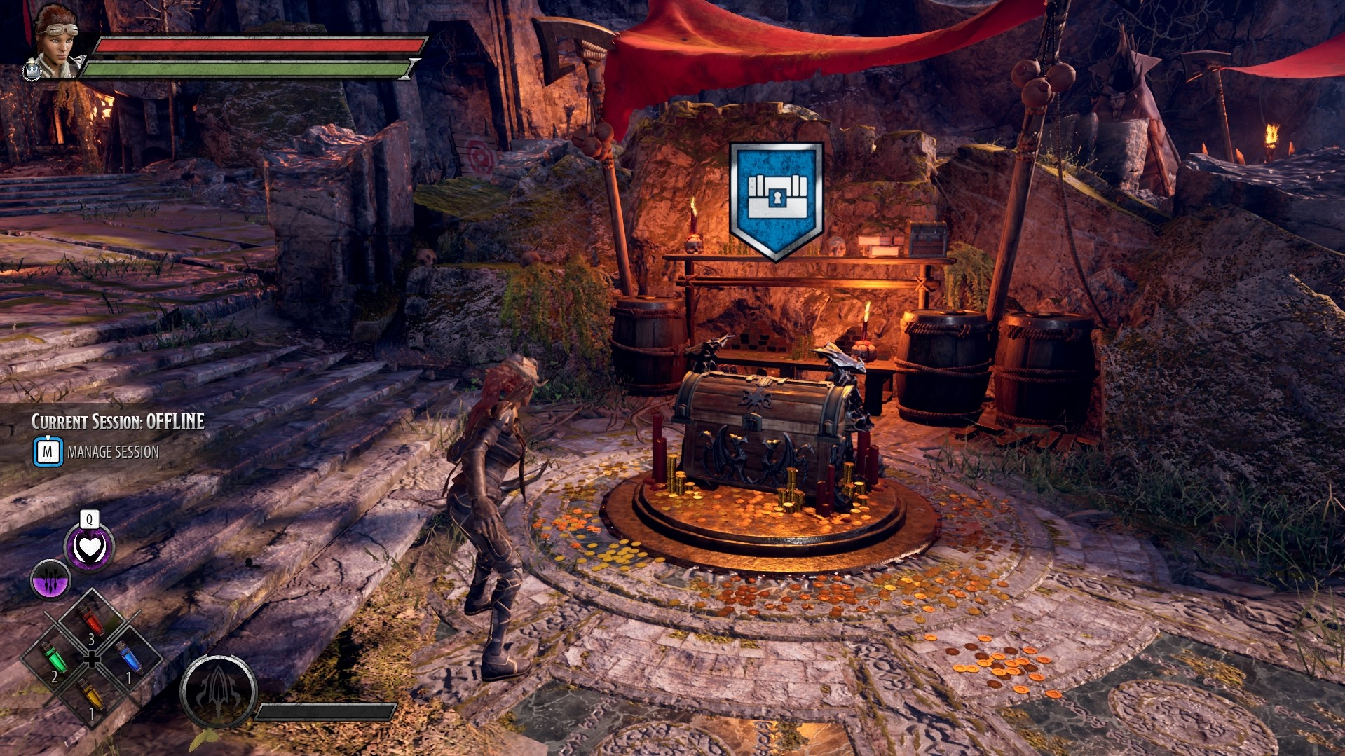 Dark Alliance - Reward Chest For Loot