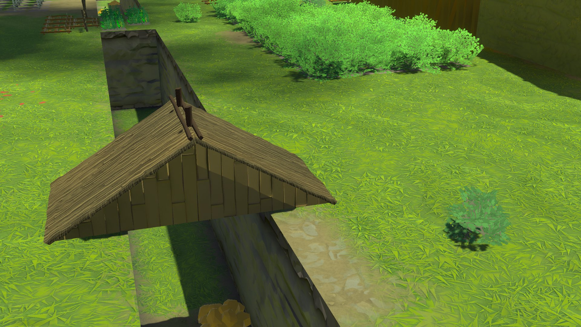 Going Medieval - How to Fill Holes Roof