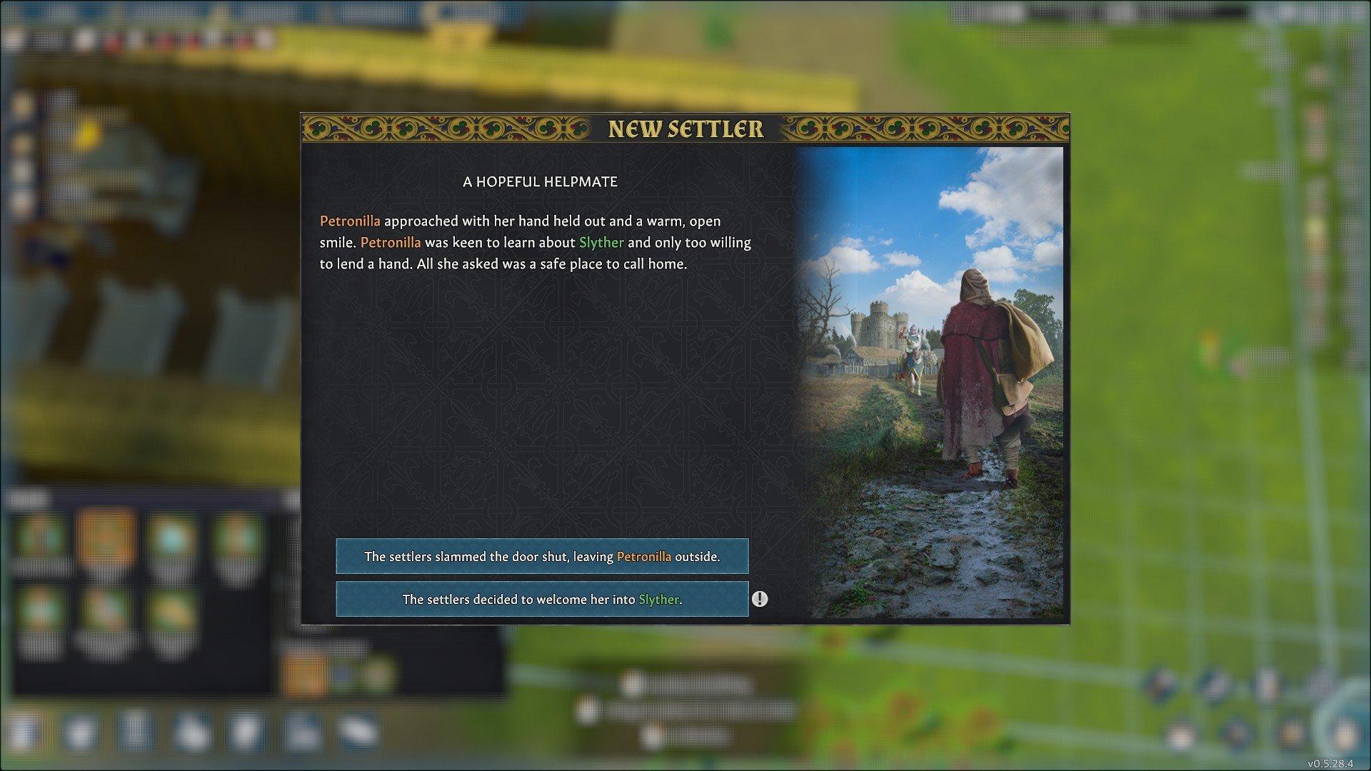 Going Medieval - Settler Event