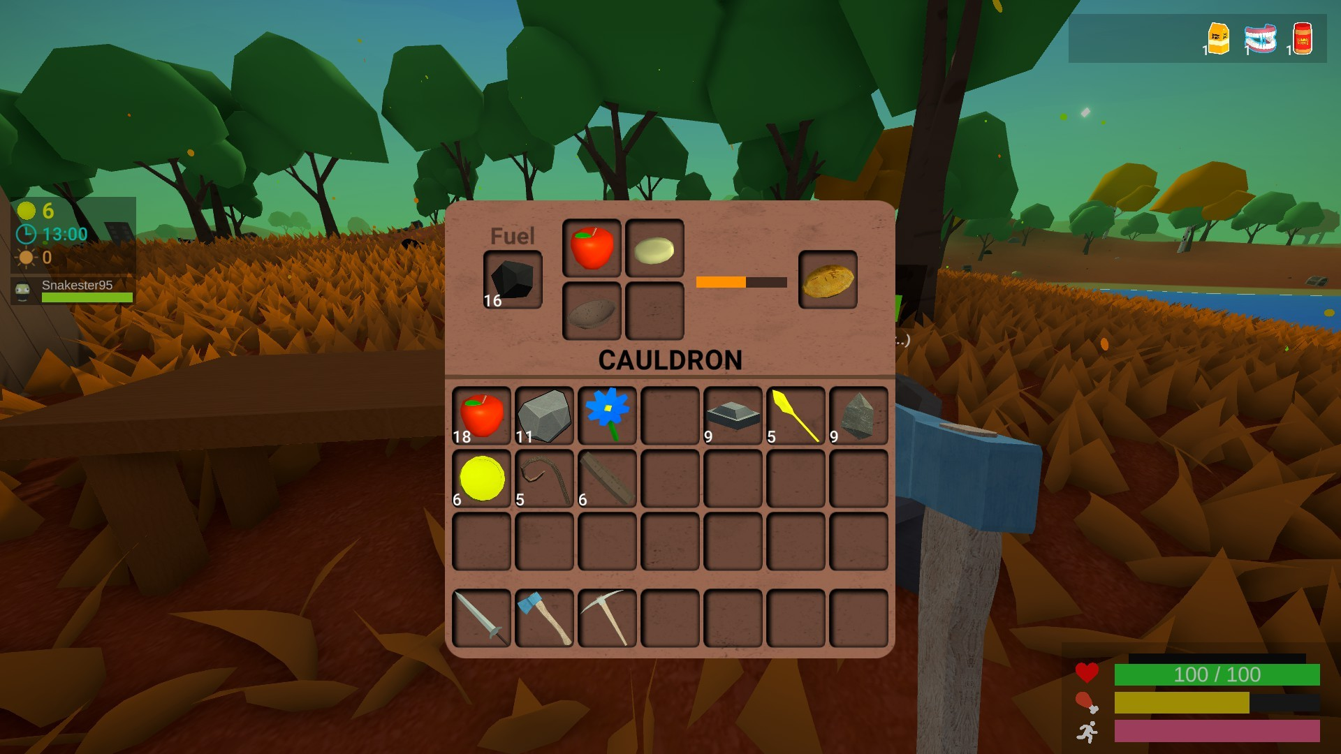 Muck - Apple Pie Recipe Screenshot